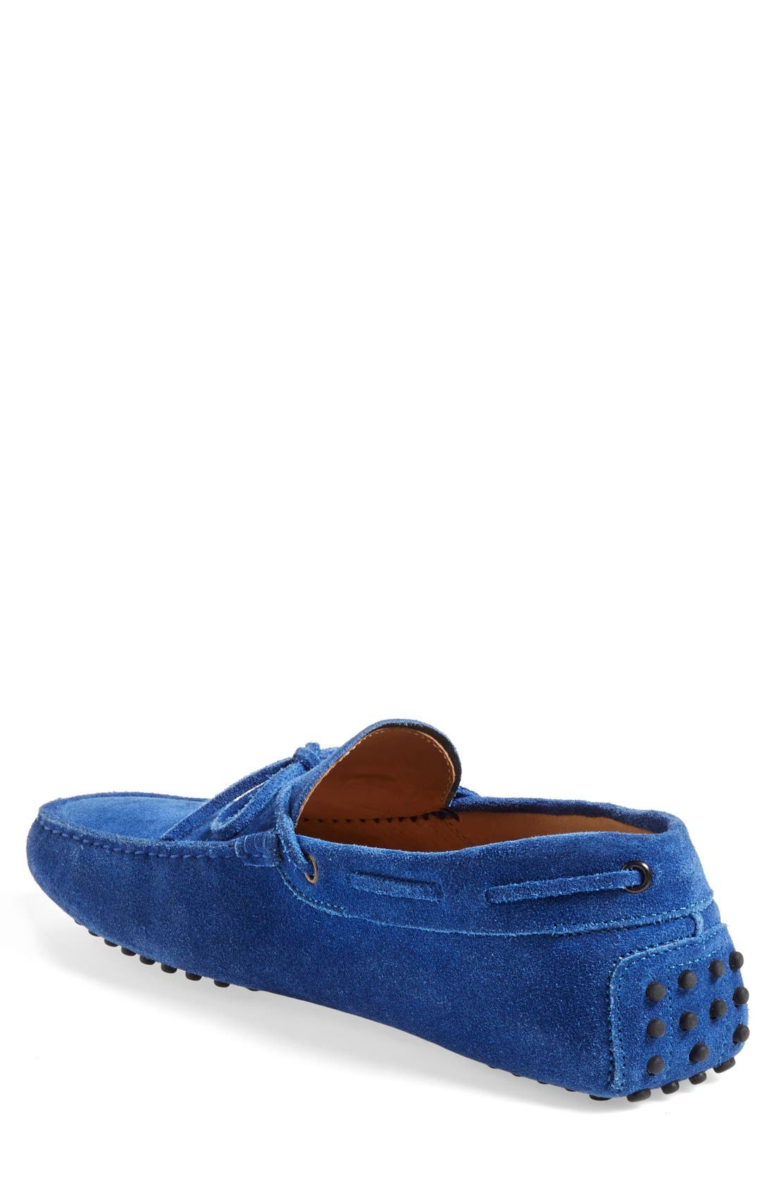 Gommini Tie Front Driving Moccasin,                             Alternate thumbnail 79, color,