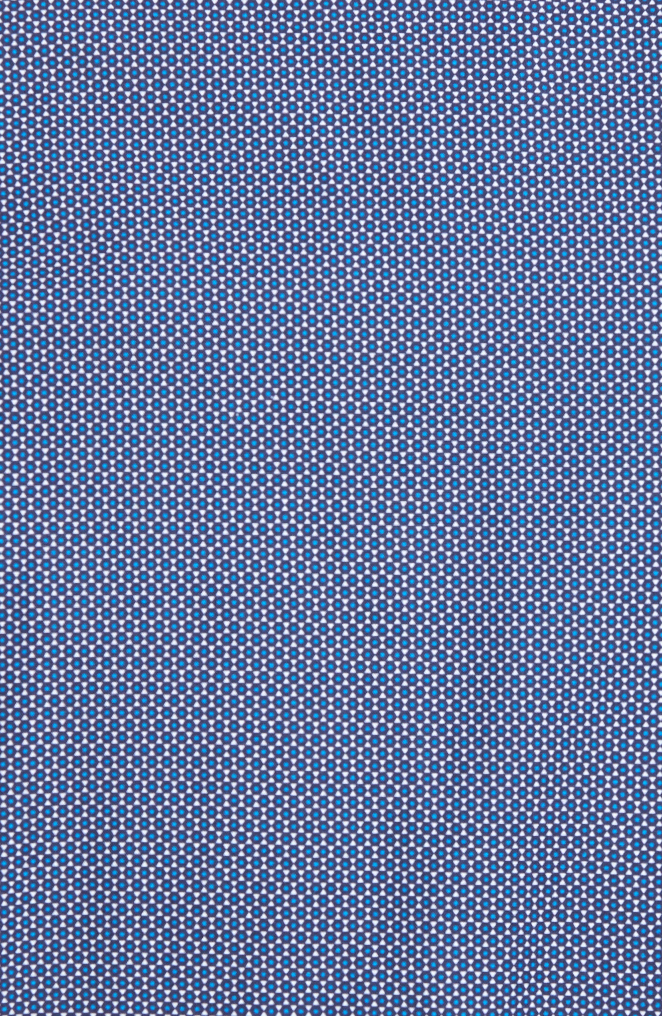 Merigeo Print Sport Shirt,                             Alternate thumbnail 5, color,                             410