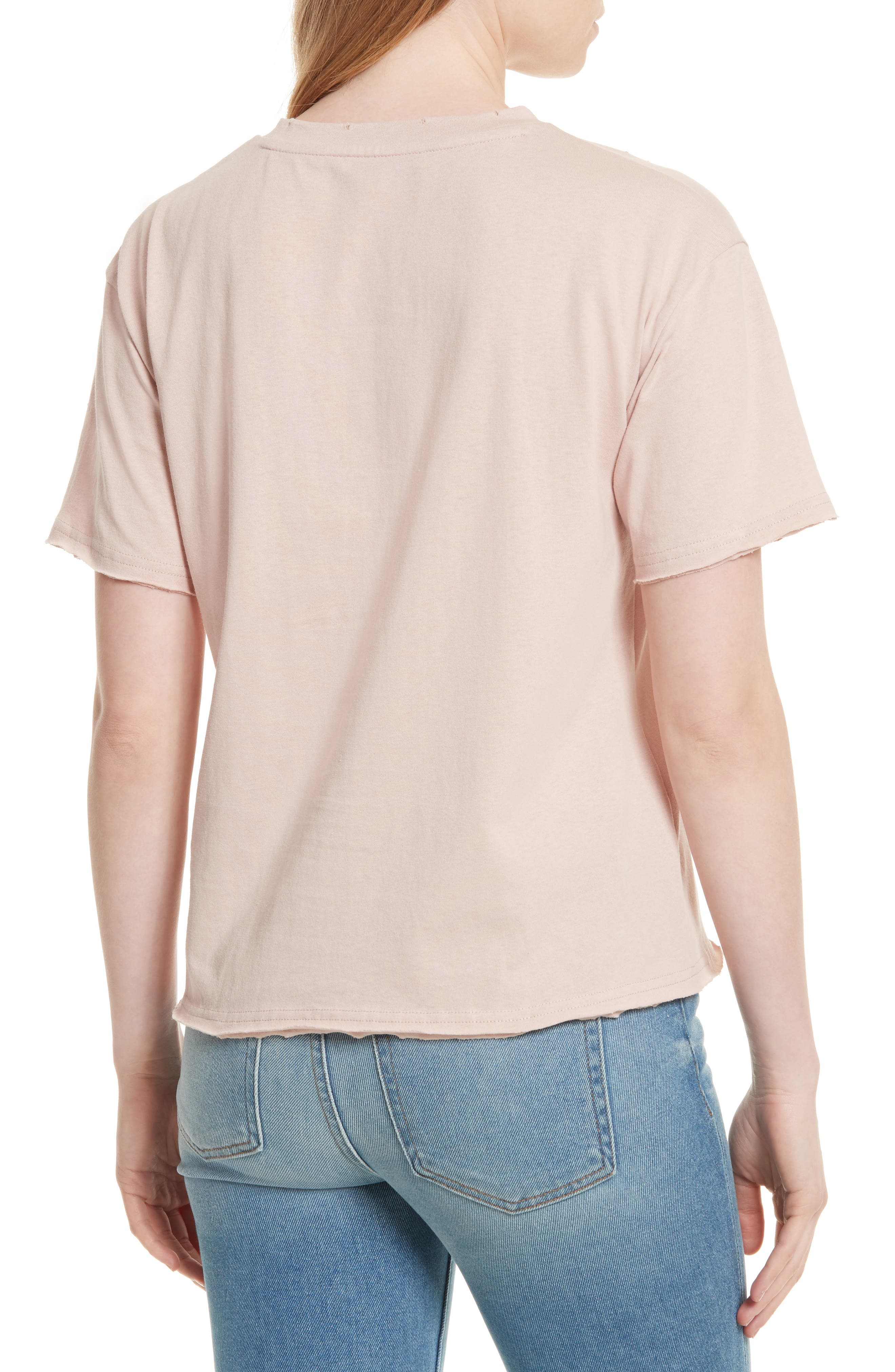 Ronnie Embroidered Tee,                             Alternate thumbnail 2, color,