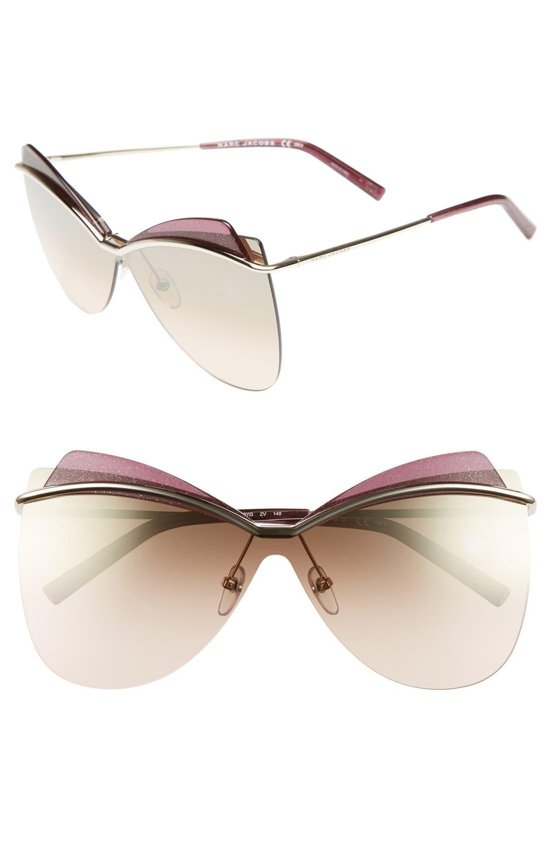 67mm Sunglasses,                             Main thumbnail 1, color,