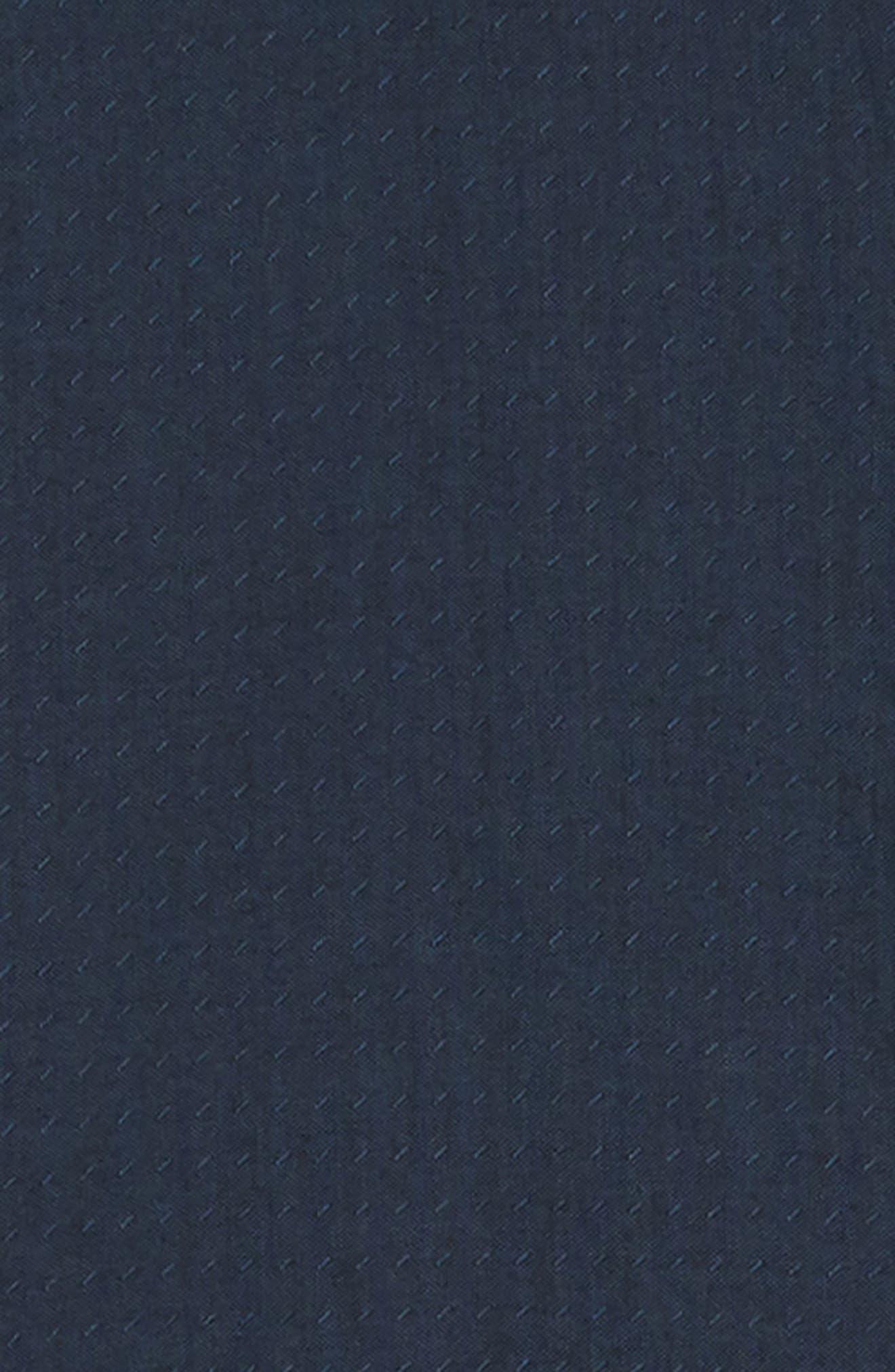 Wakefield Woven Shirt,                             Alternate thumbnail 6, color,                             DRESS BLUES