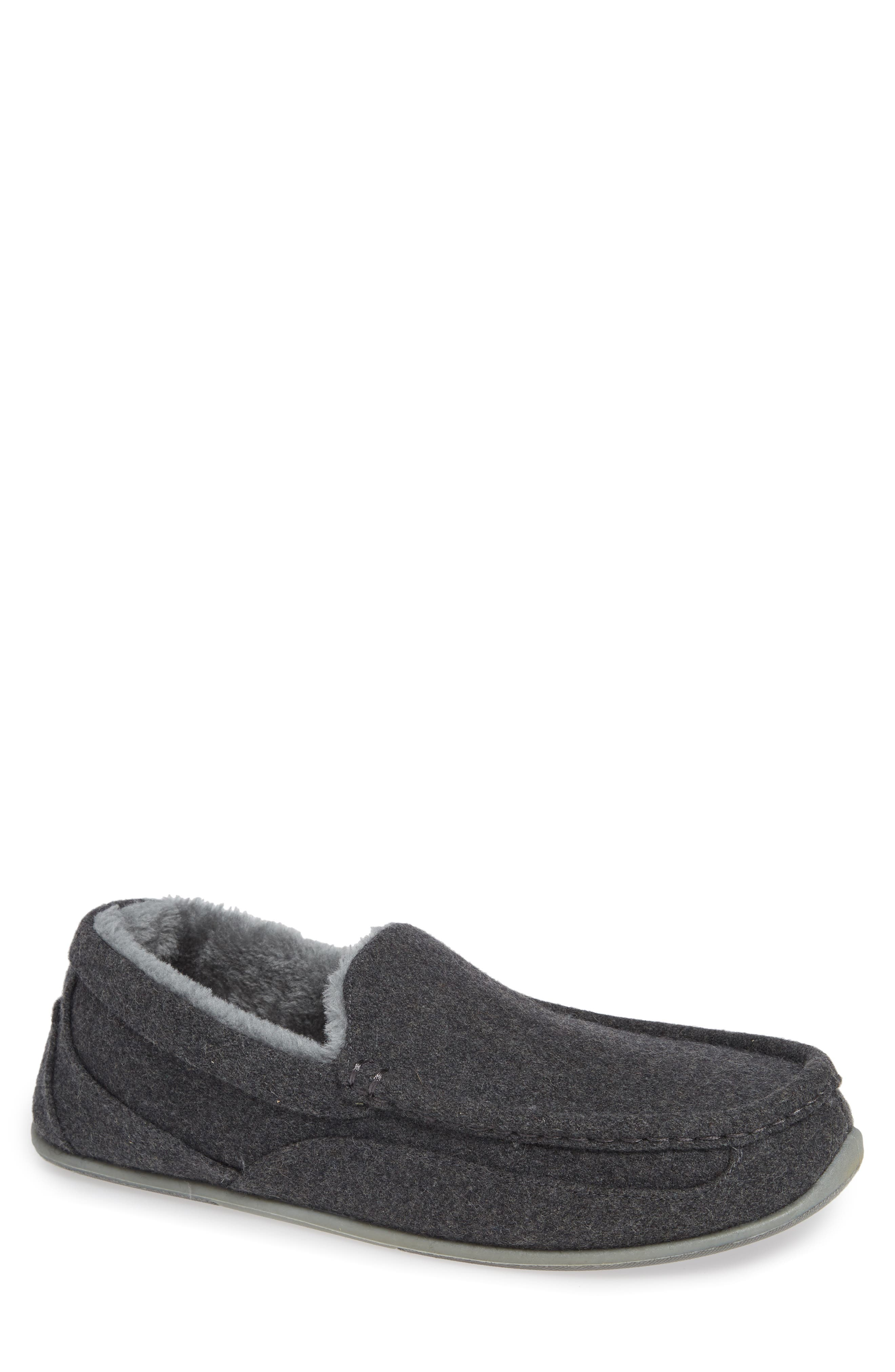Spun Slipper,                         Main,                         color, DARK GREY