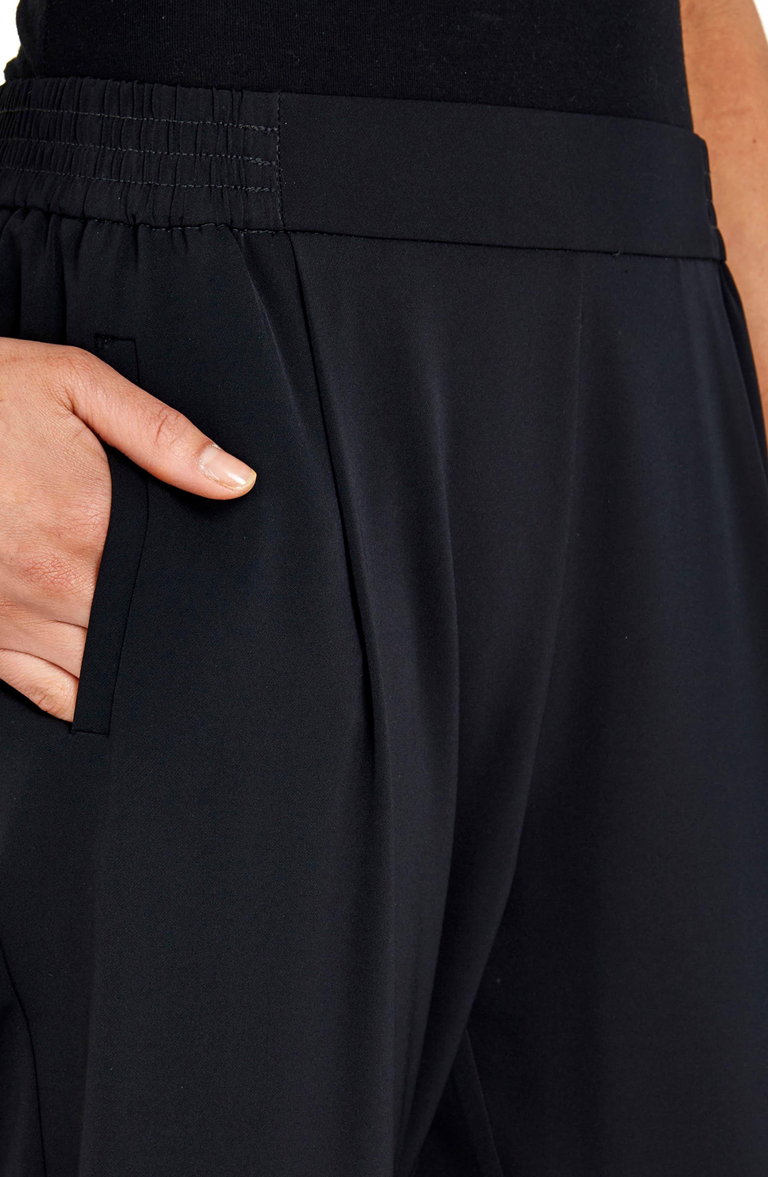 Pleat Front Pants,                             Alternate thumbnail 2, color,                             001