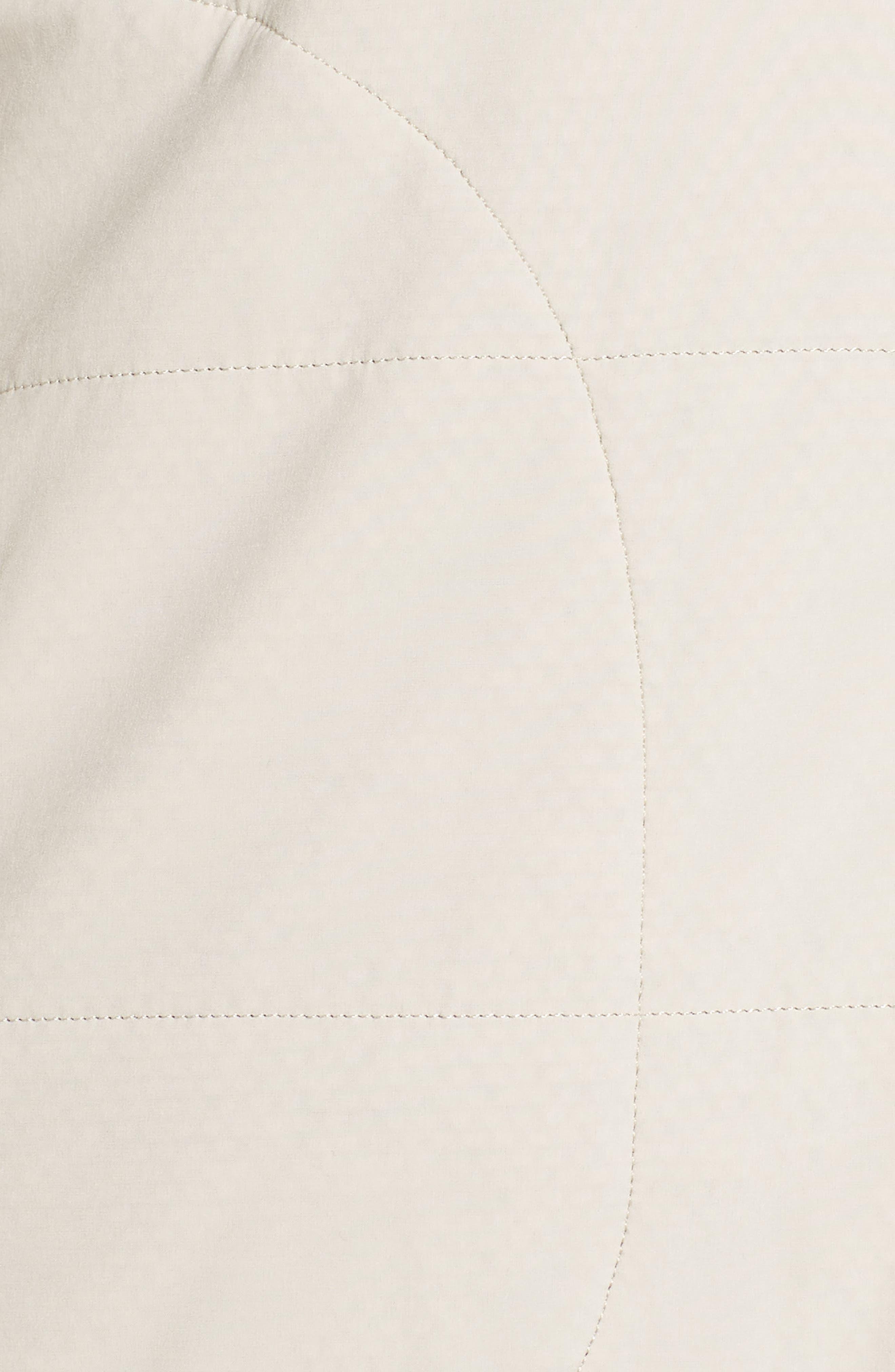 Mountain Zip Hooded Sweatshirt,                             Alternate thumbnail 7, color,                             PEYOTE BEIGE/ GRAPHITE GREY