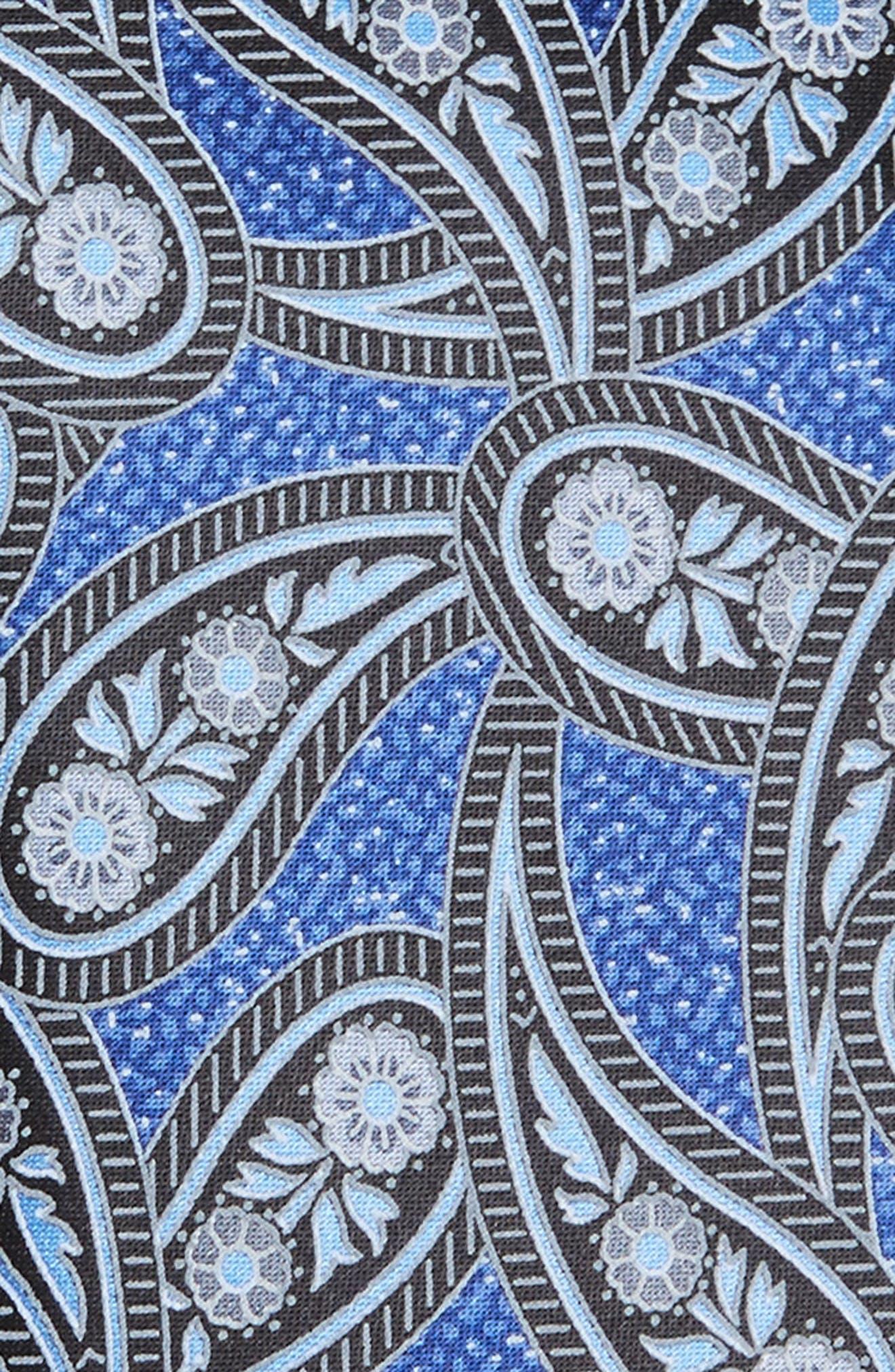 Paisley Silk Tie,                             Alternate thumbnail 2, color,                             428