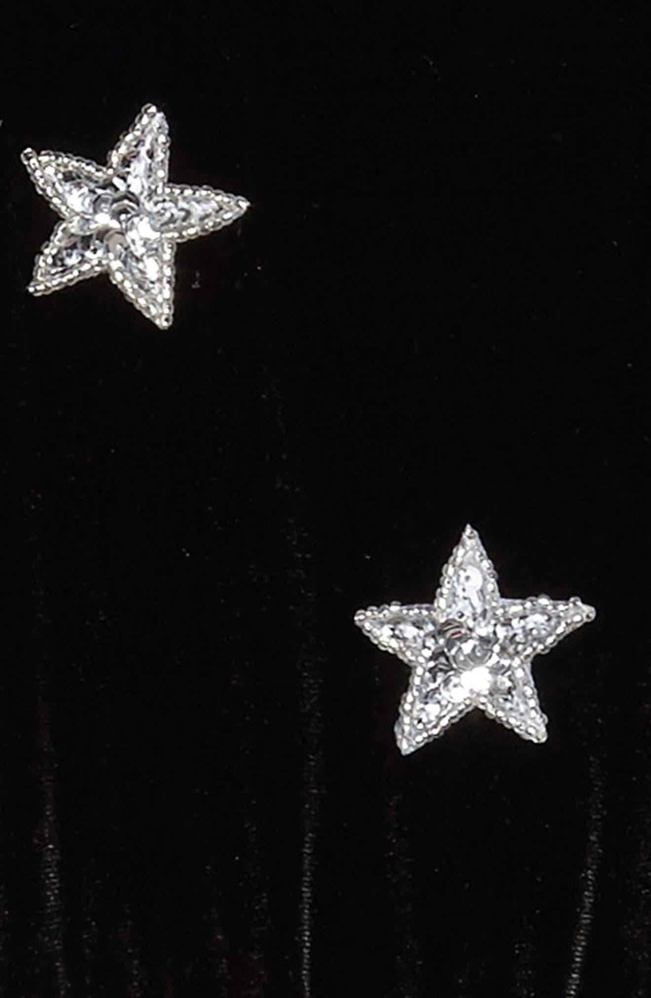 North Star Velvet Dress,                             Alternate thumbnail 3, color,                             001