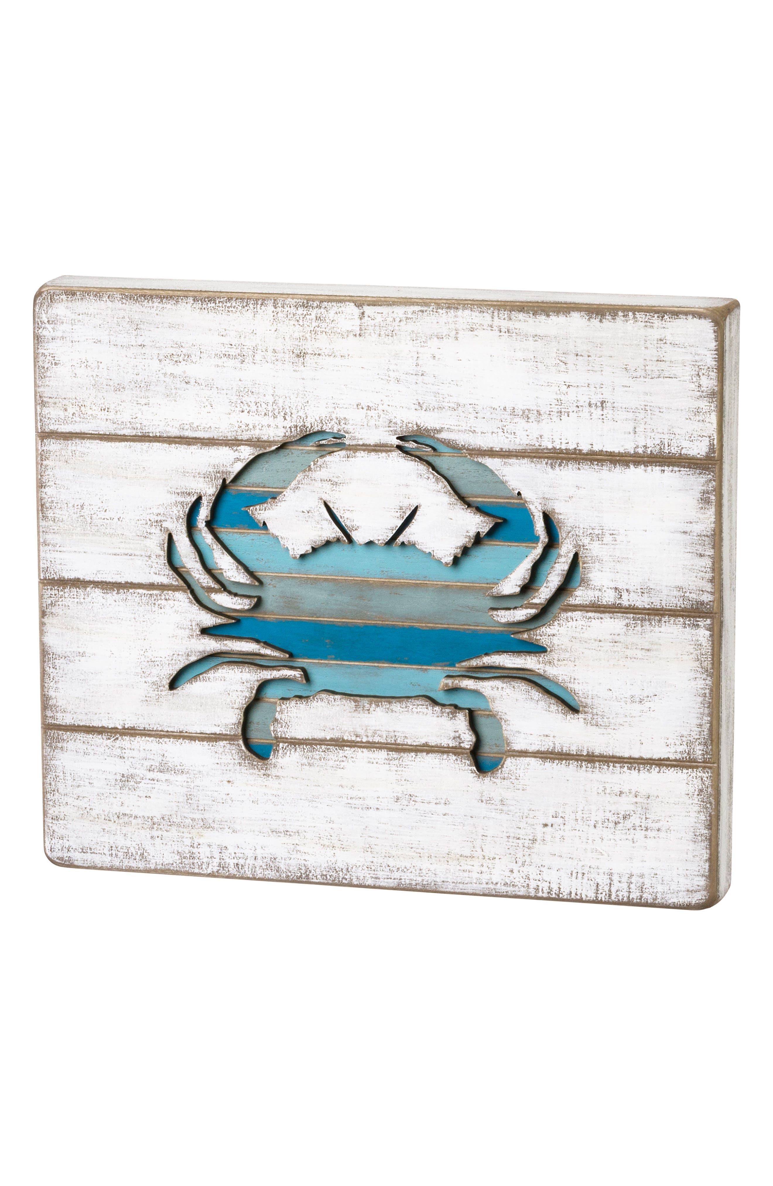 Crab Box Sign,                             Main thumbnail 1, color,                             400