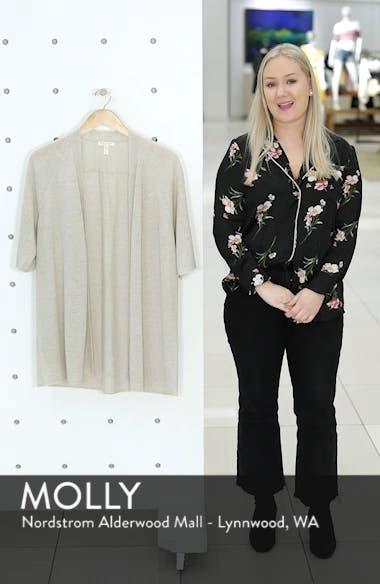 Organic Linen Cardigan, sales video thumbnail