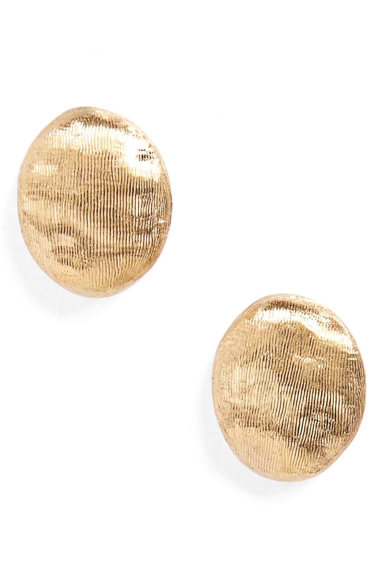 'Siviglia' Stud Earrings,                         Main,                         color, YELLOW GOLD