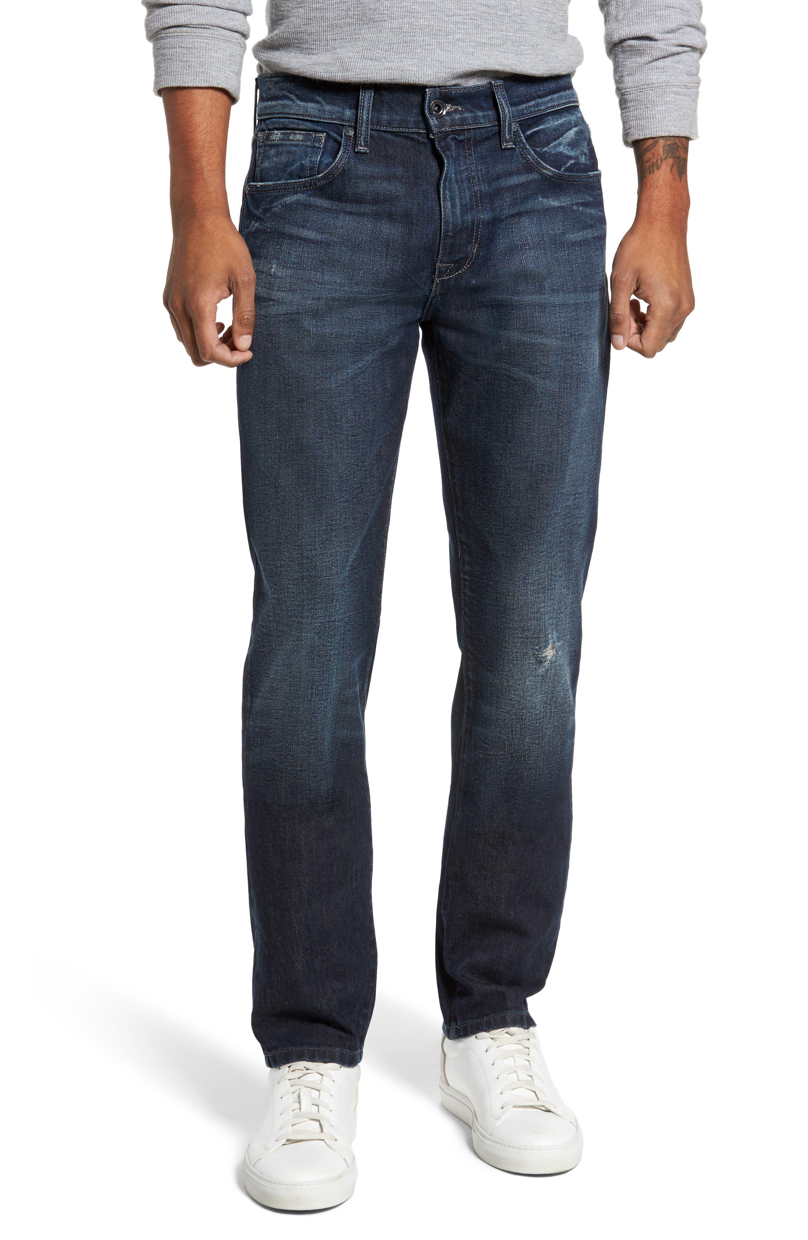 Brixton Slim Straight Leg Jeans,                             Main thumbnail 1, color,                             415