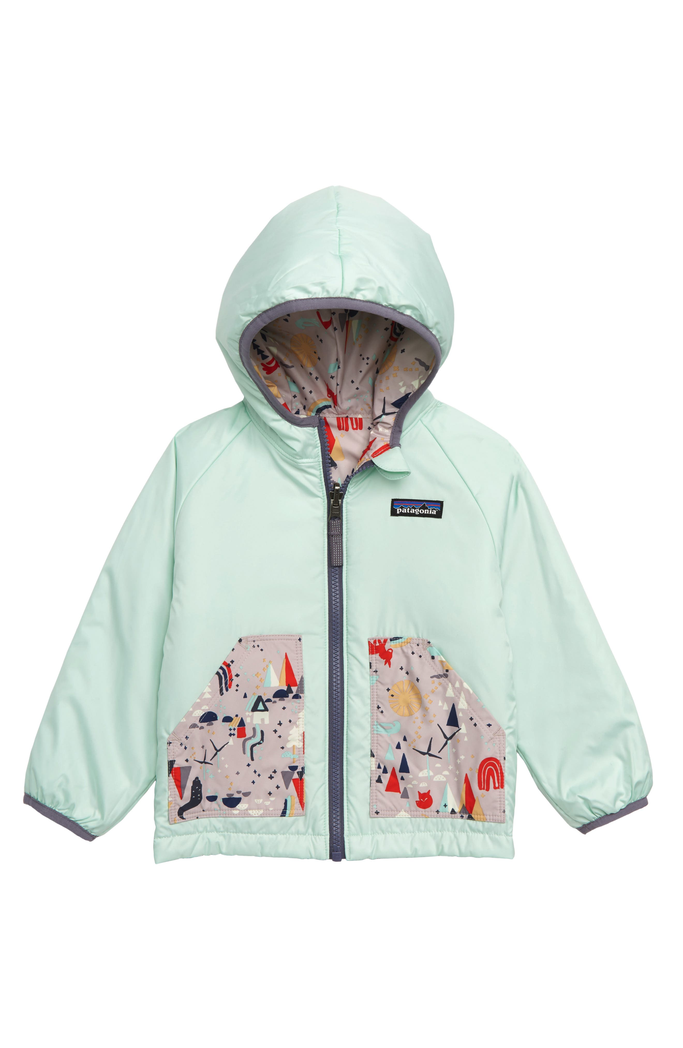 Puff Ball Water Resistant Thermolite<sup>®</sup> Insulated Reversible Jacket,                             Alternate thumbnail 2, color,                             501