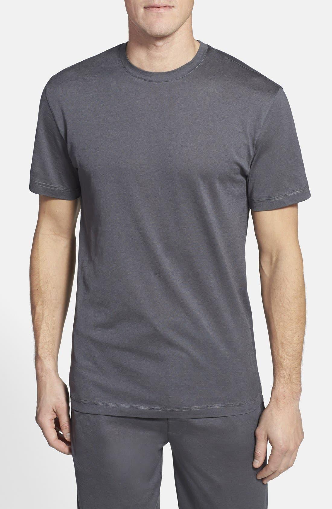 'Down Time' Crewneck T-Shirt,                             Main thumbnail 1, color,                             030