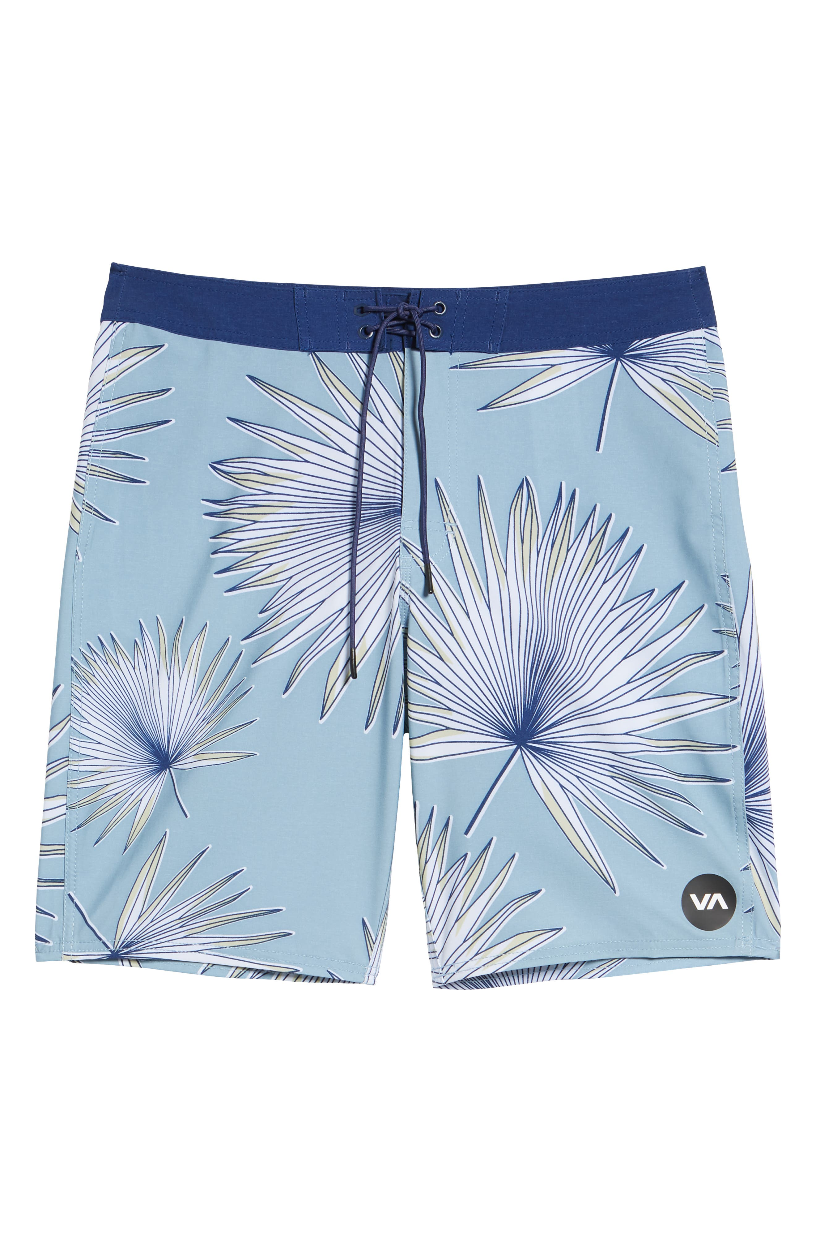Varca Board Shorts,                             Alternate thumbnail 6, color,                             DUSTY BLUE