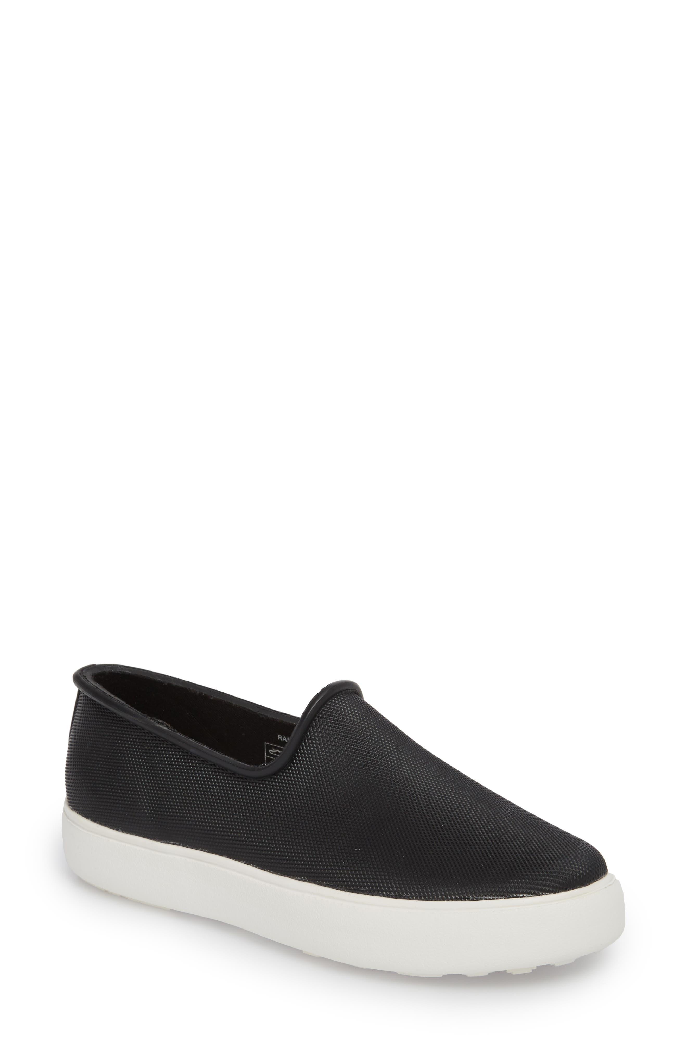Rainy Day Waterproof Slip-On Sneaker,                         Main,                         color, 001