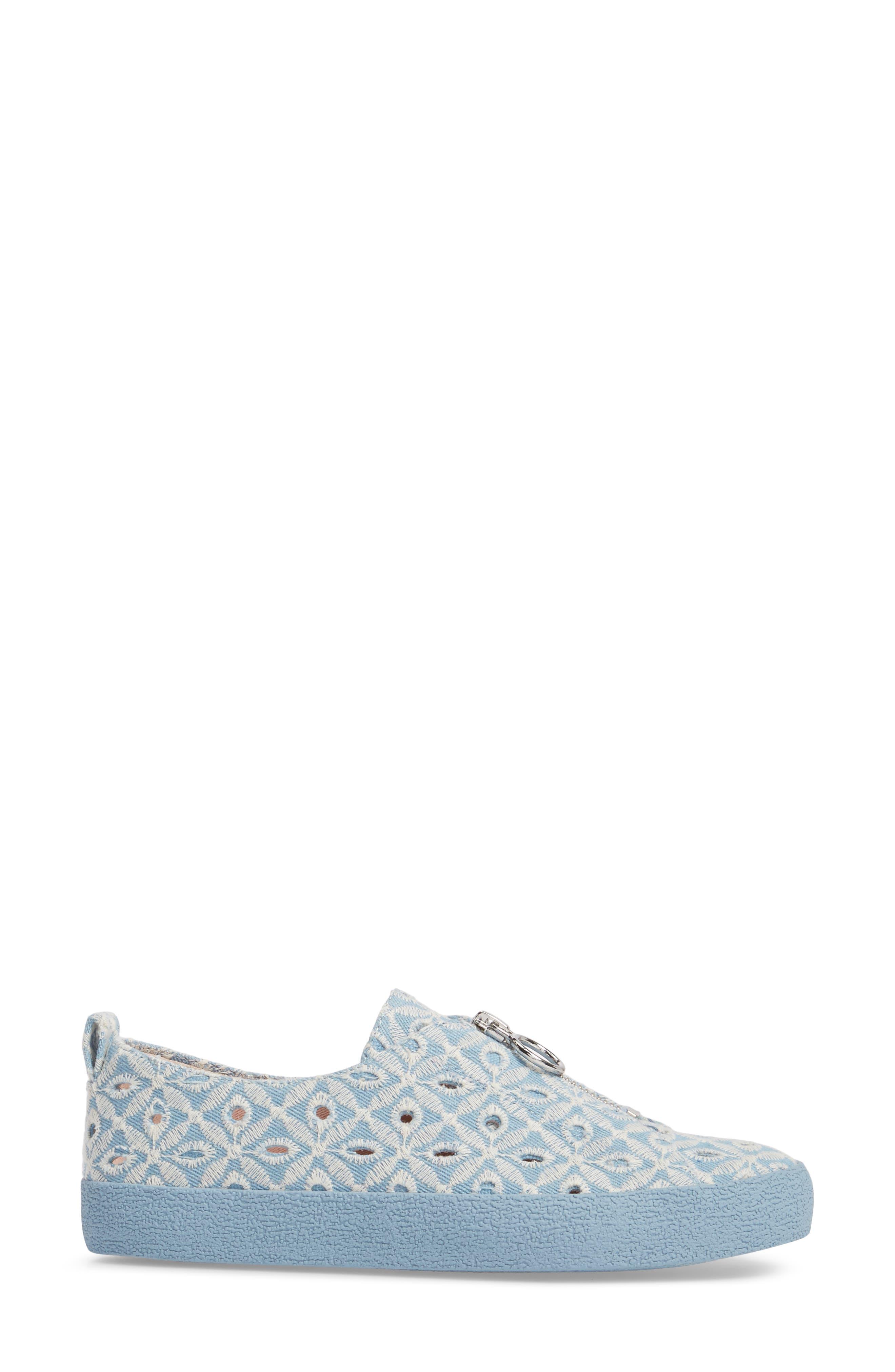 Sasha Zip Sneaker,                             Alternate thumbnail 8, color,