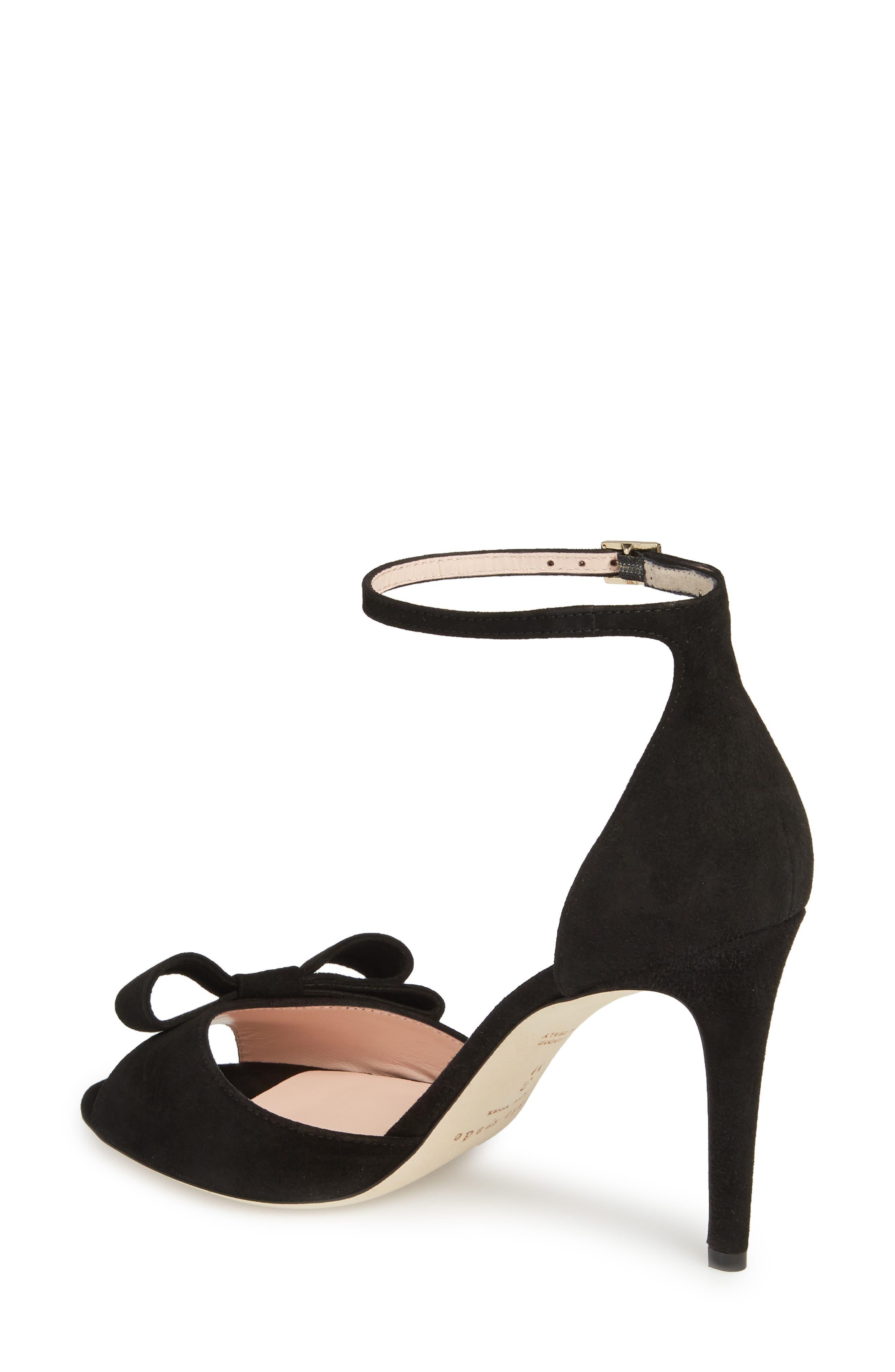 ismay ankle strap sandal,                             Alternate thumbnail 2, color,                             001