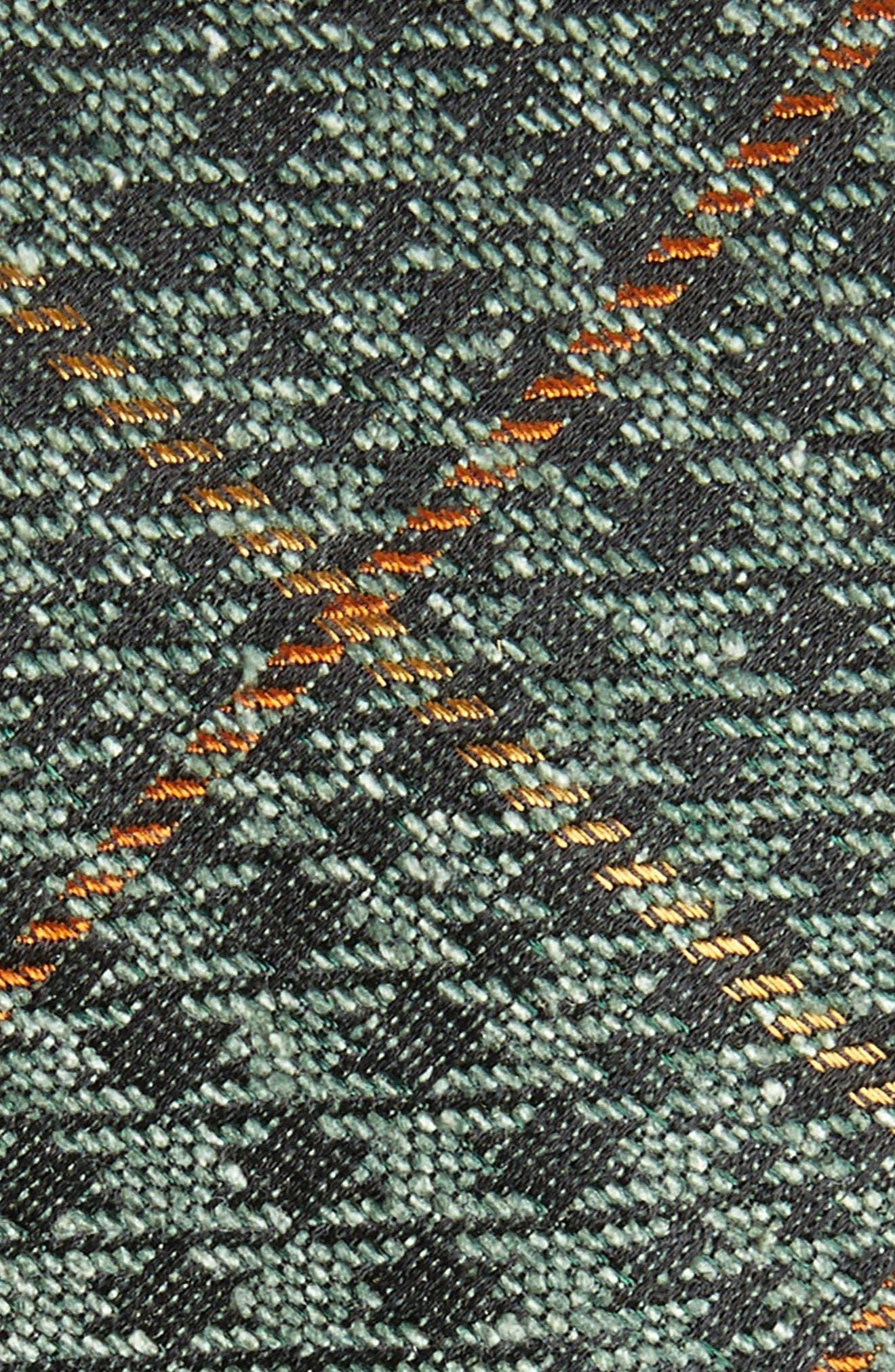 THE TIE BAR,                             Quinn Plaid Silk Skinny Tie,                             Alternate thumbnail 2, color,                             300