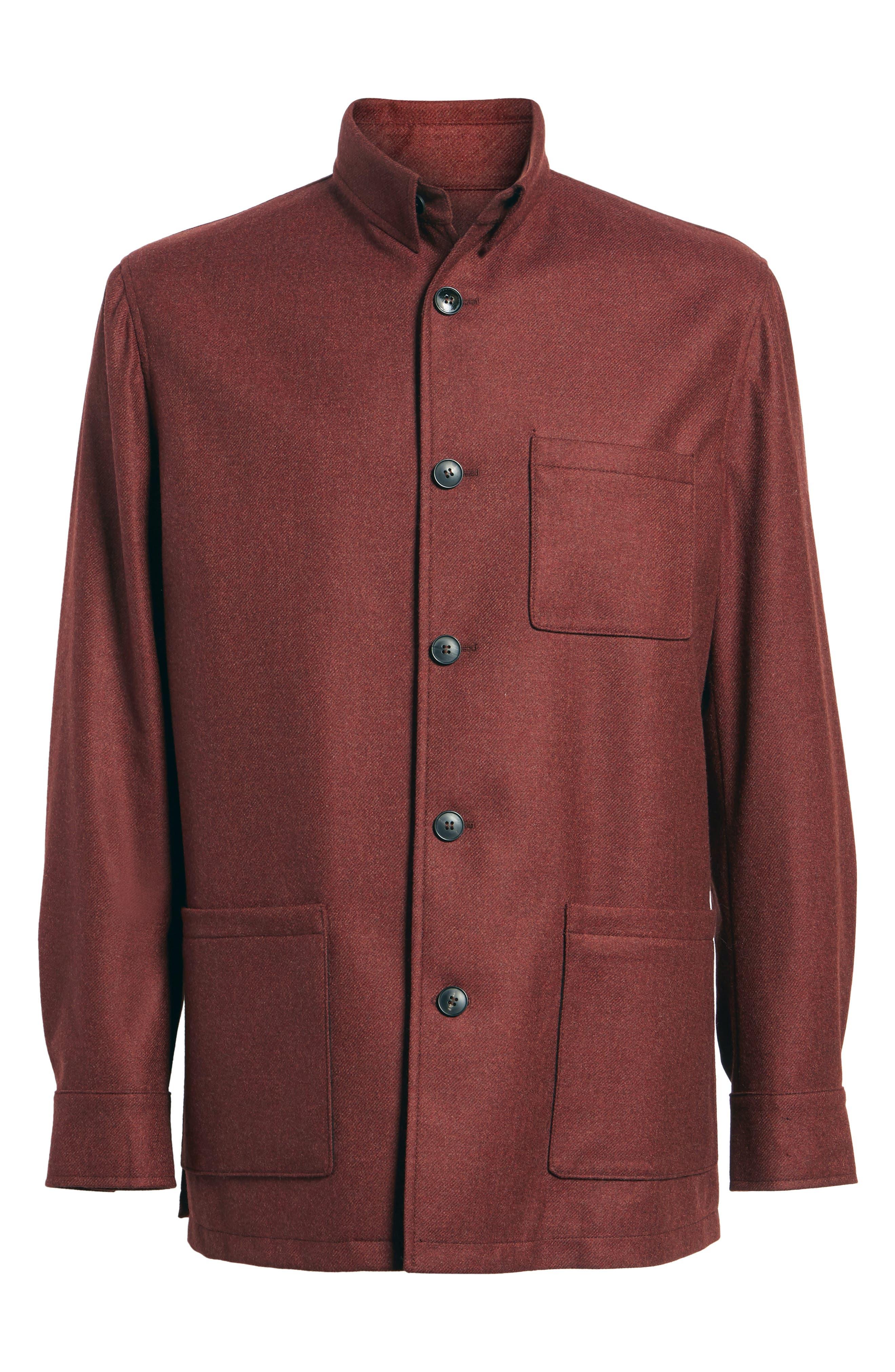 Loro Piana Storm System Shirt Jacket,                             Alternate thumbnail 25, color,