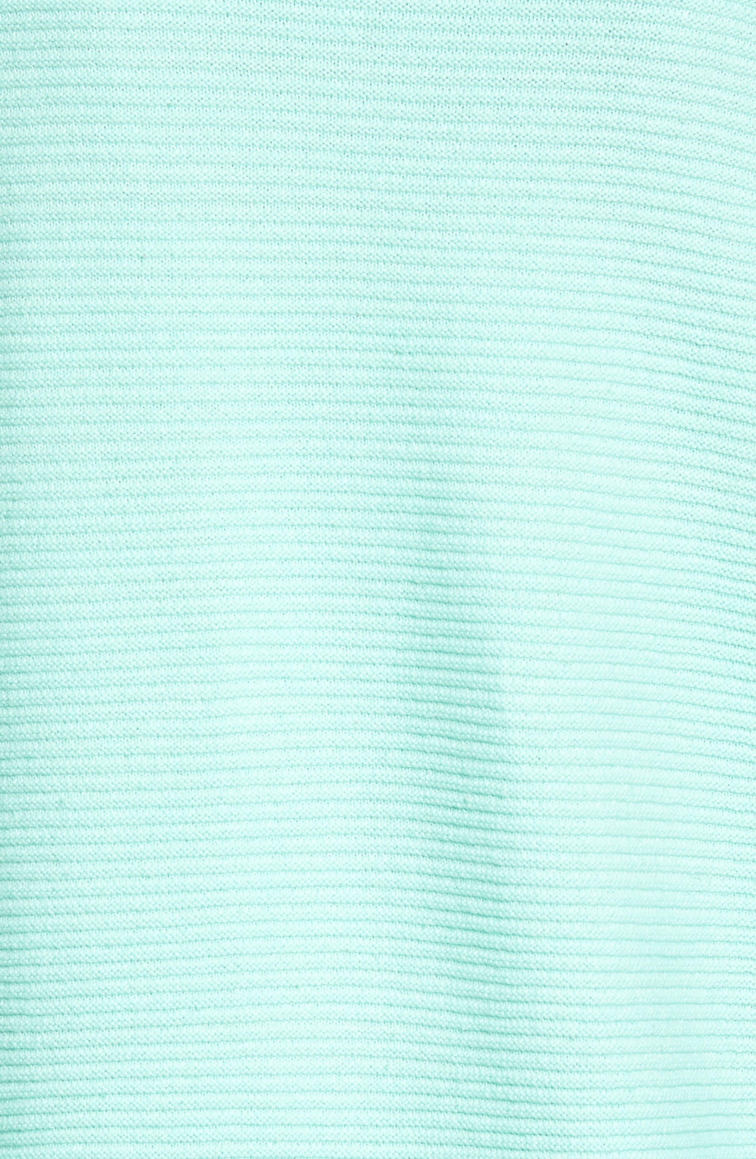 Cowl Neck Shirttail Hem Sweater,                             Alternate thumbnail 5, color,                             336
