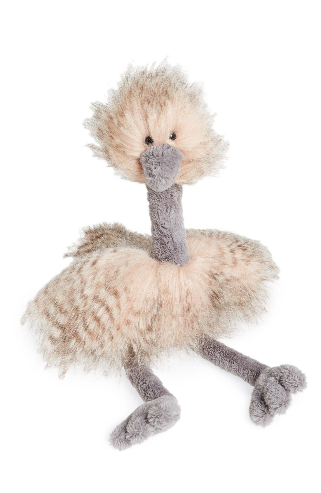 'Odette Ostrich' Stuffed Animal,                             Main thumbnail 1, color,                             680