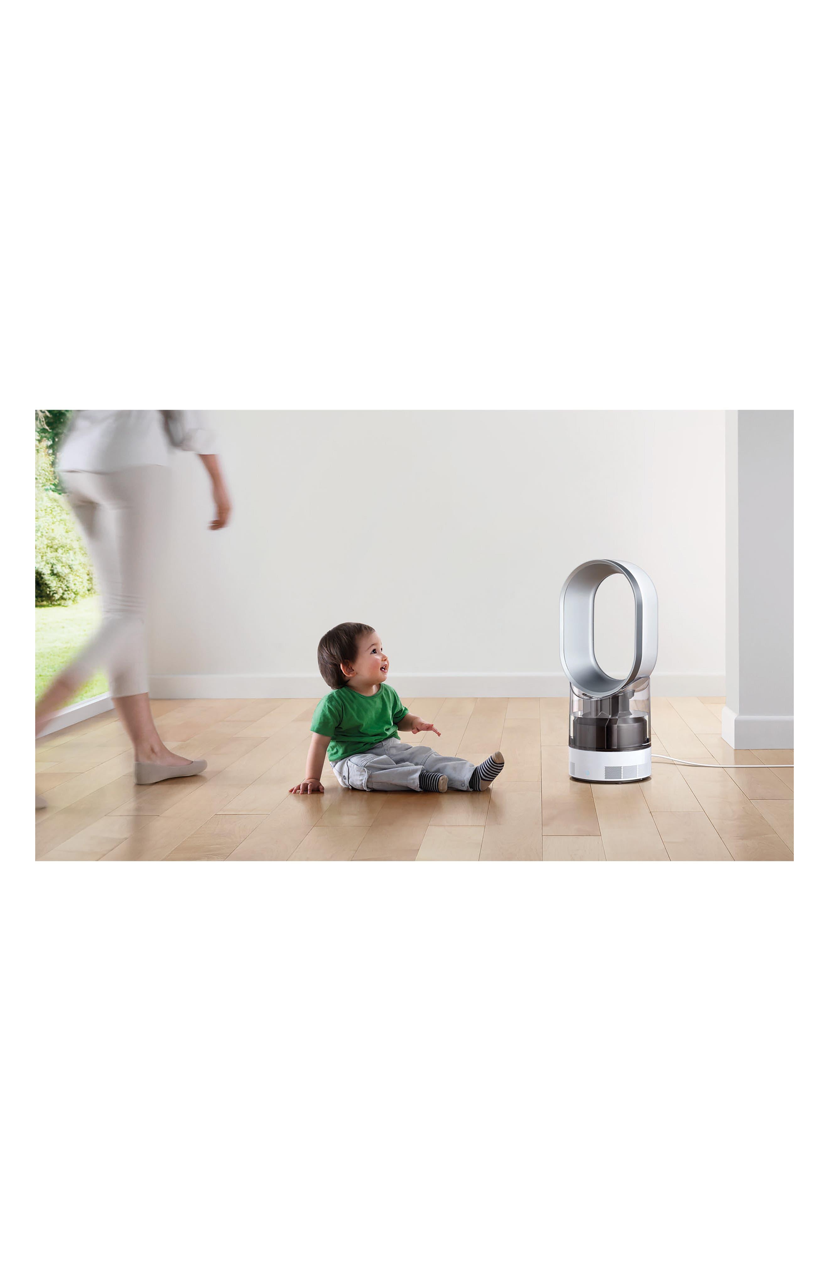 AM10 Hygienic Humidifier & Bladeless Fan,                             Alternate thumbnail 2, color,