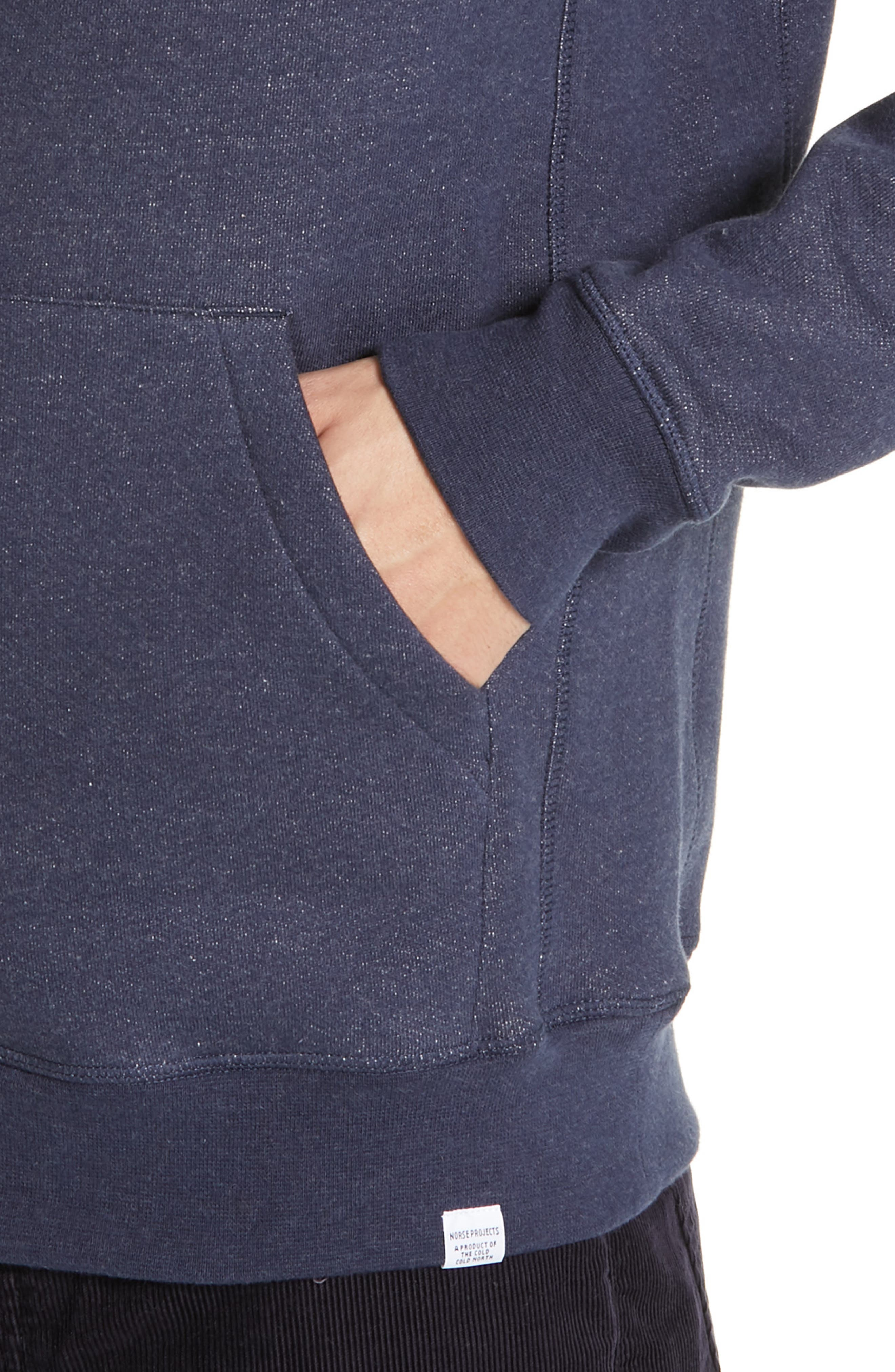 NORSE PROJECTS,                             Ketel Hoodie,                             Alternate thumbnail 4, color,                             DARK NAVY