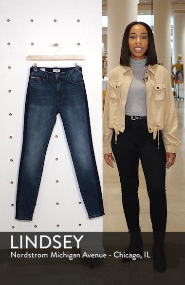 Santana High Waist Skinny Jeans, sales video thumbnail