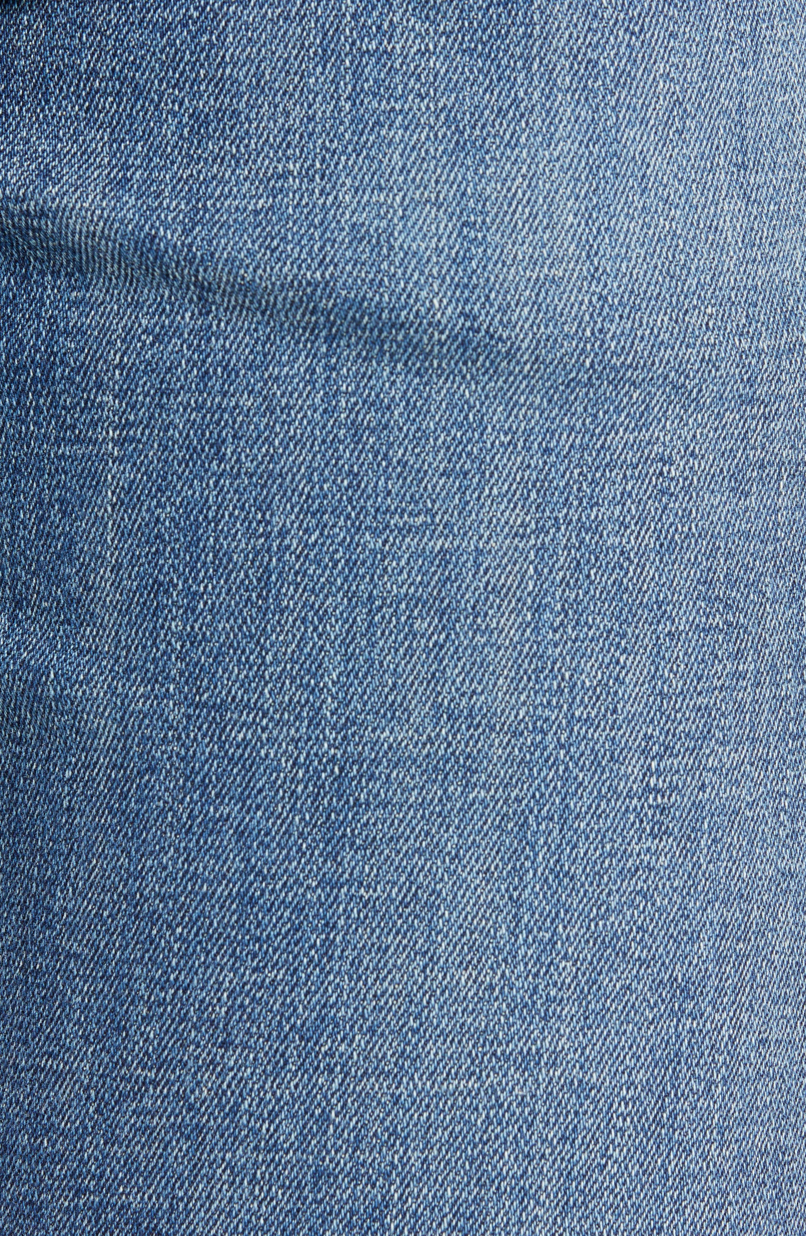 Sid Straight Leg Jeans,                             Alternate thumbnail 5, color,                             AURORA
