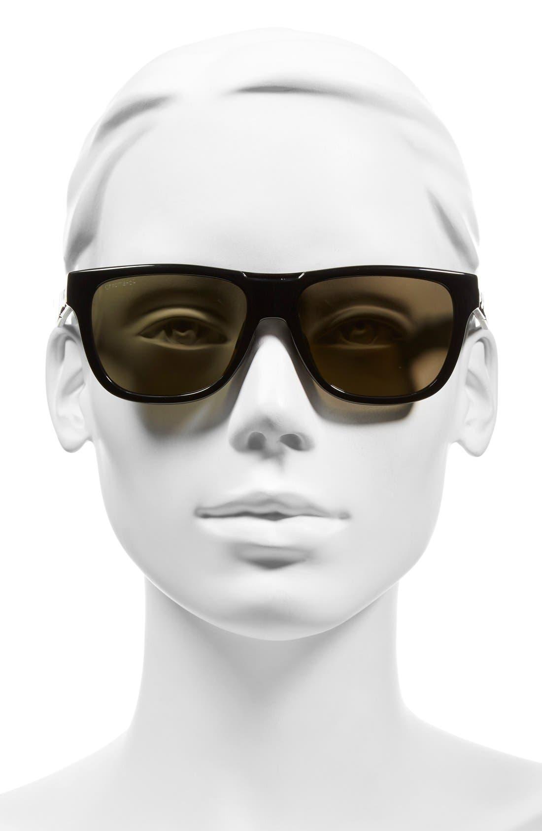 'Lowdown Slim' 53mm Sunglasses,                             Alternate thumbnail 2, color,                             001