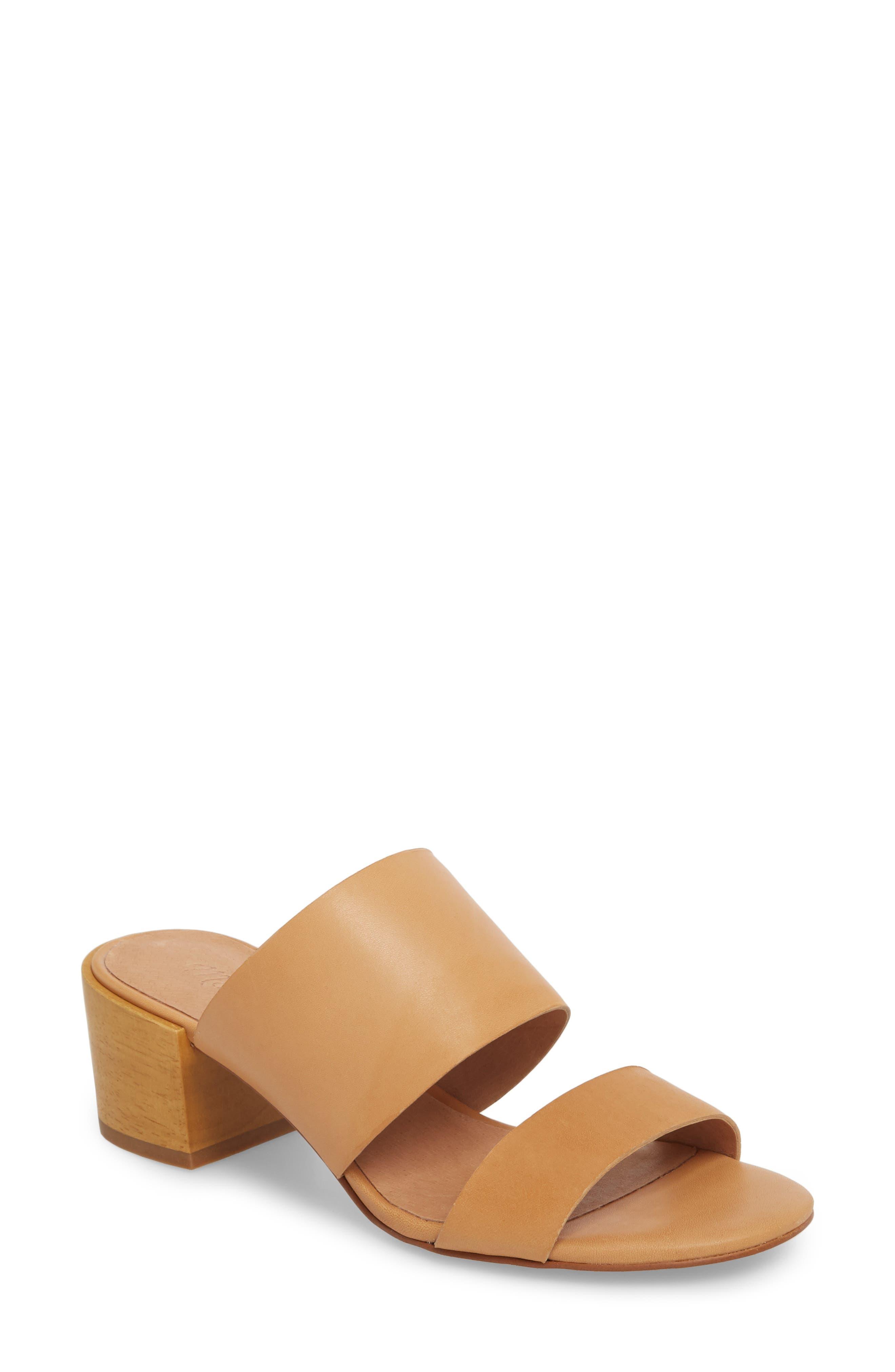 Kiera Block Heel Slide,                             Main thumbnail 2, color,