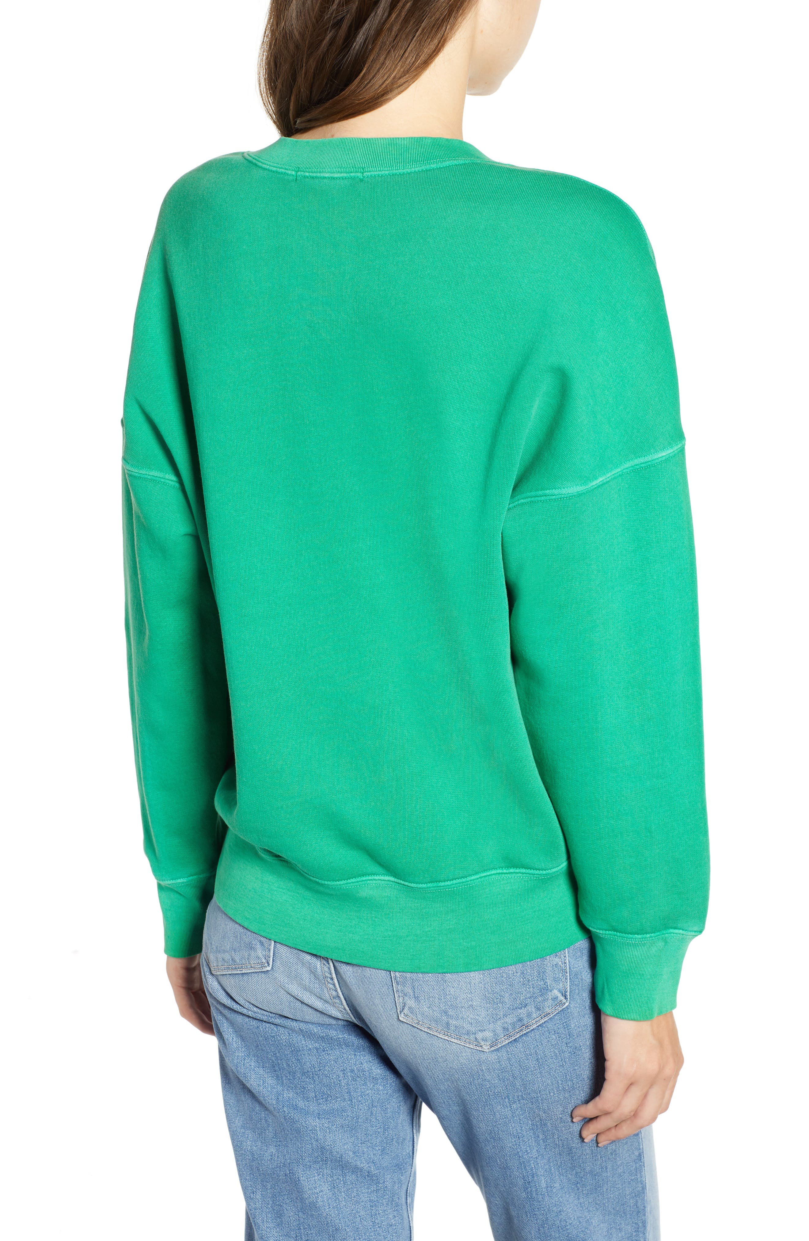 Neon Pullover,                             Alternate thumbnail 2, color,                             GREEN