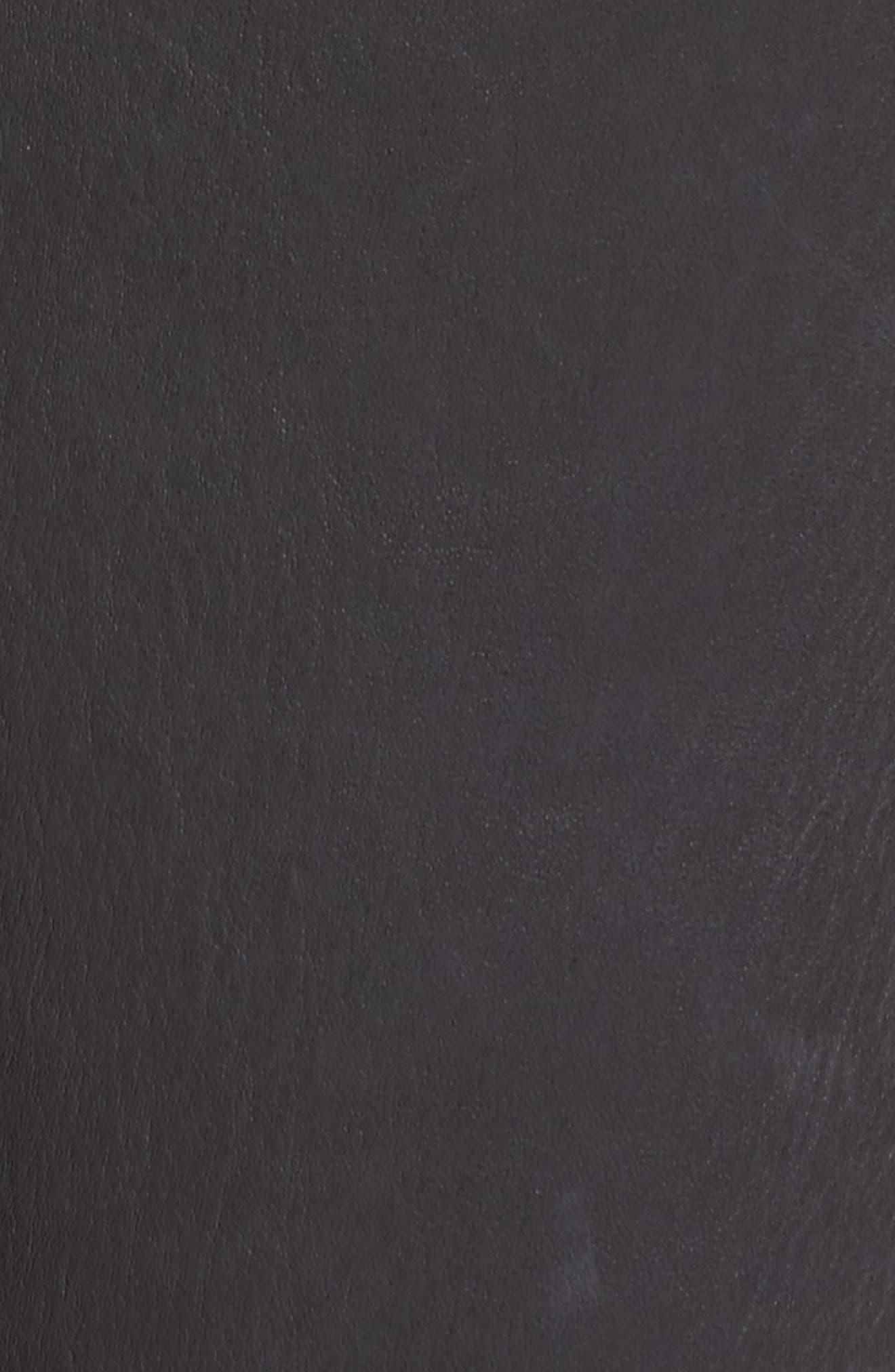 Farrah Leather Skinny Jeans,                             Alternate thumbnail 14, color,