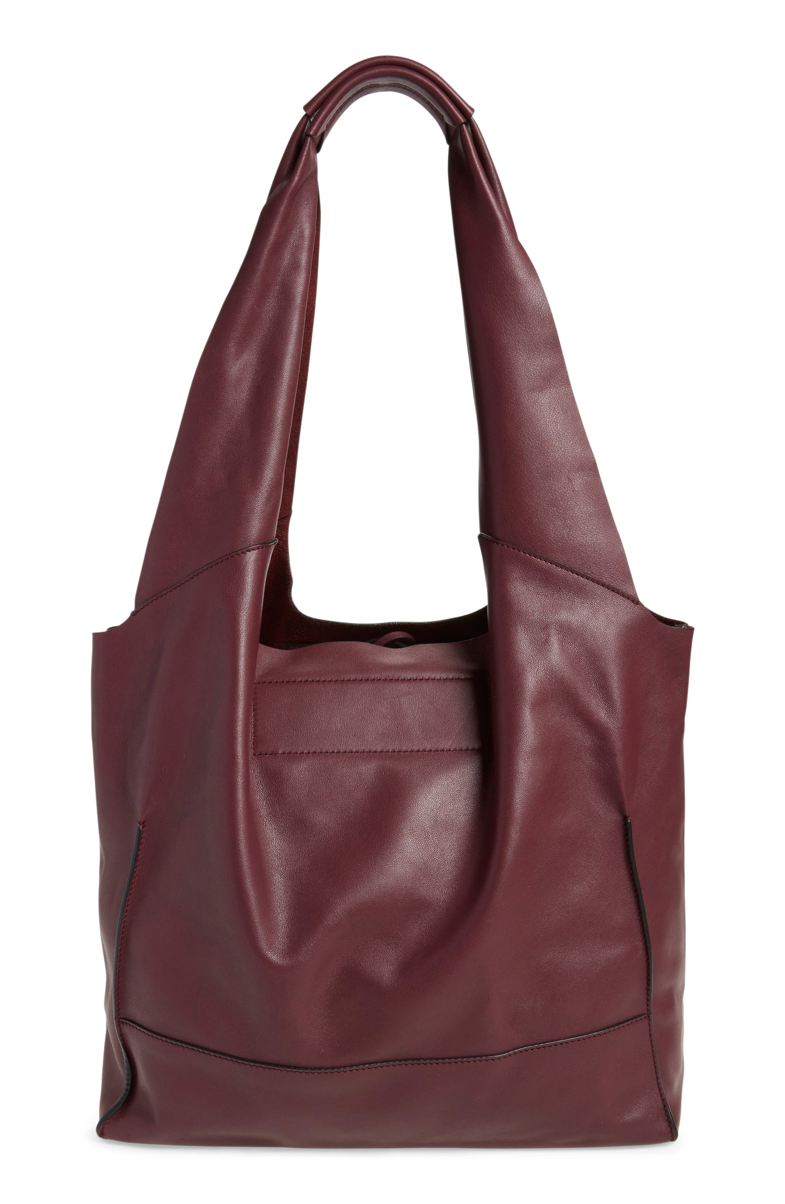 Walker Leather Tote,                             Alternate thumbnail 8, color,