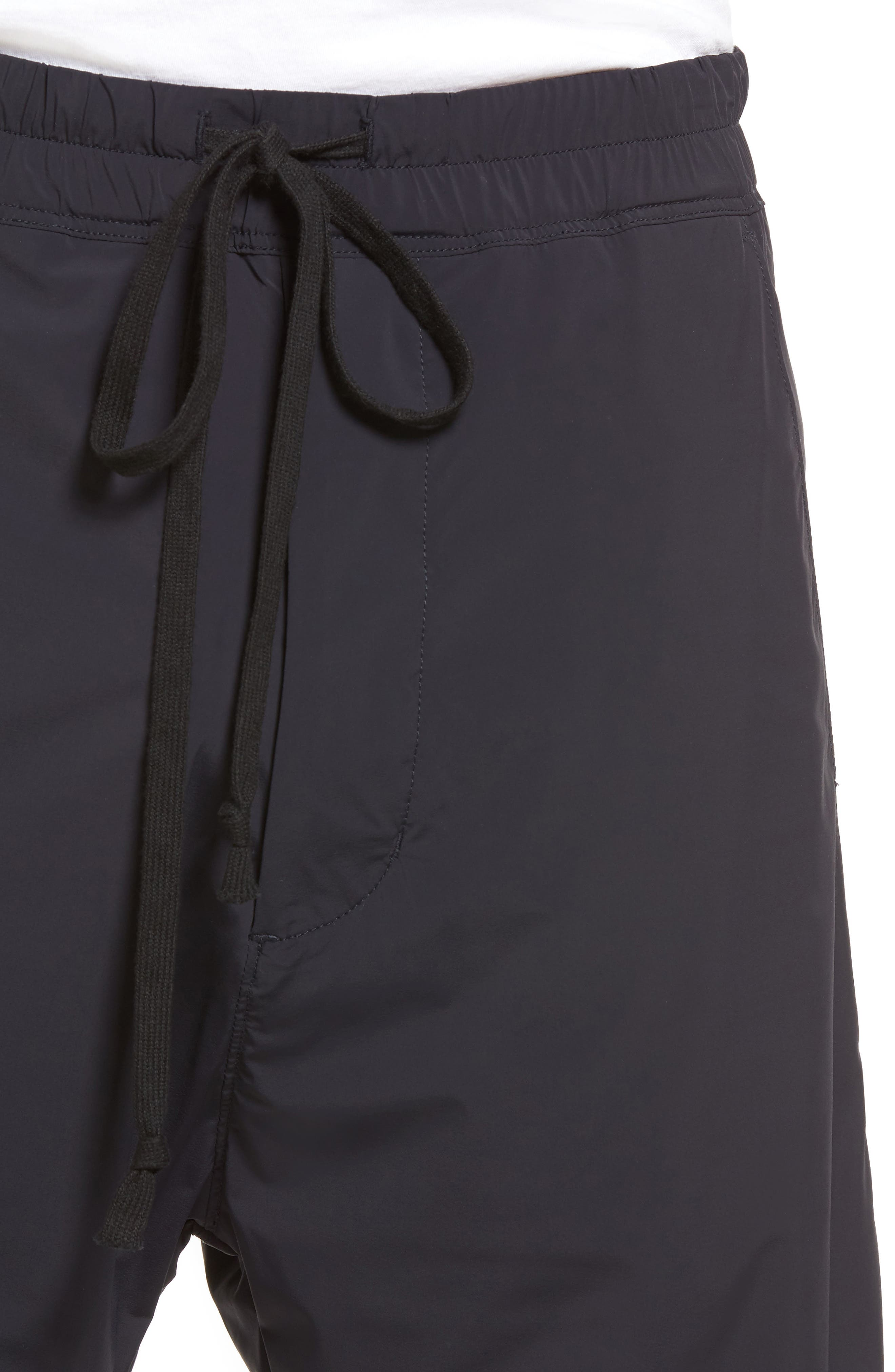 Drop Crotch Shorts,                             Alternate thumbnail 4, color,                             001