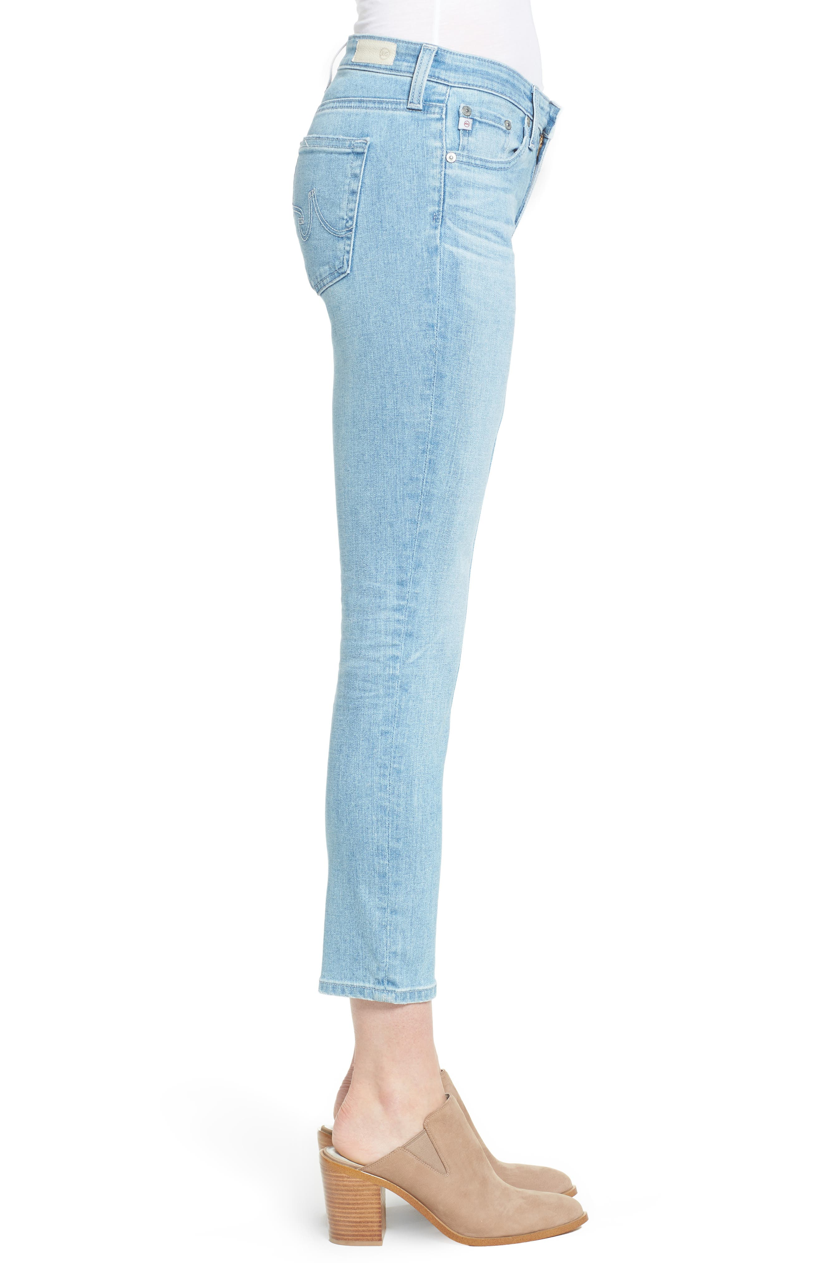 Prima Crop Cigarette Jeans,                             Alternate thumbnail 8, color,