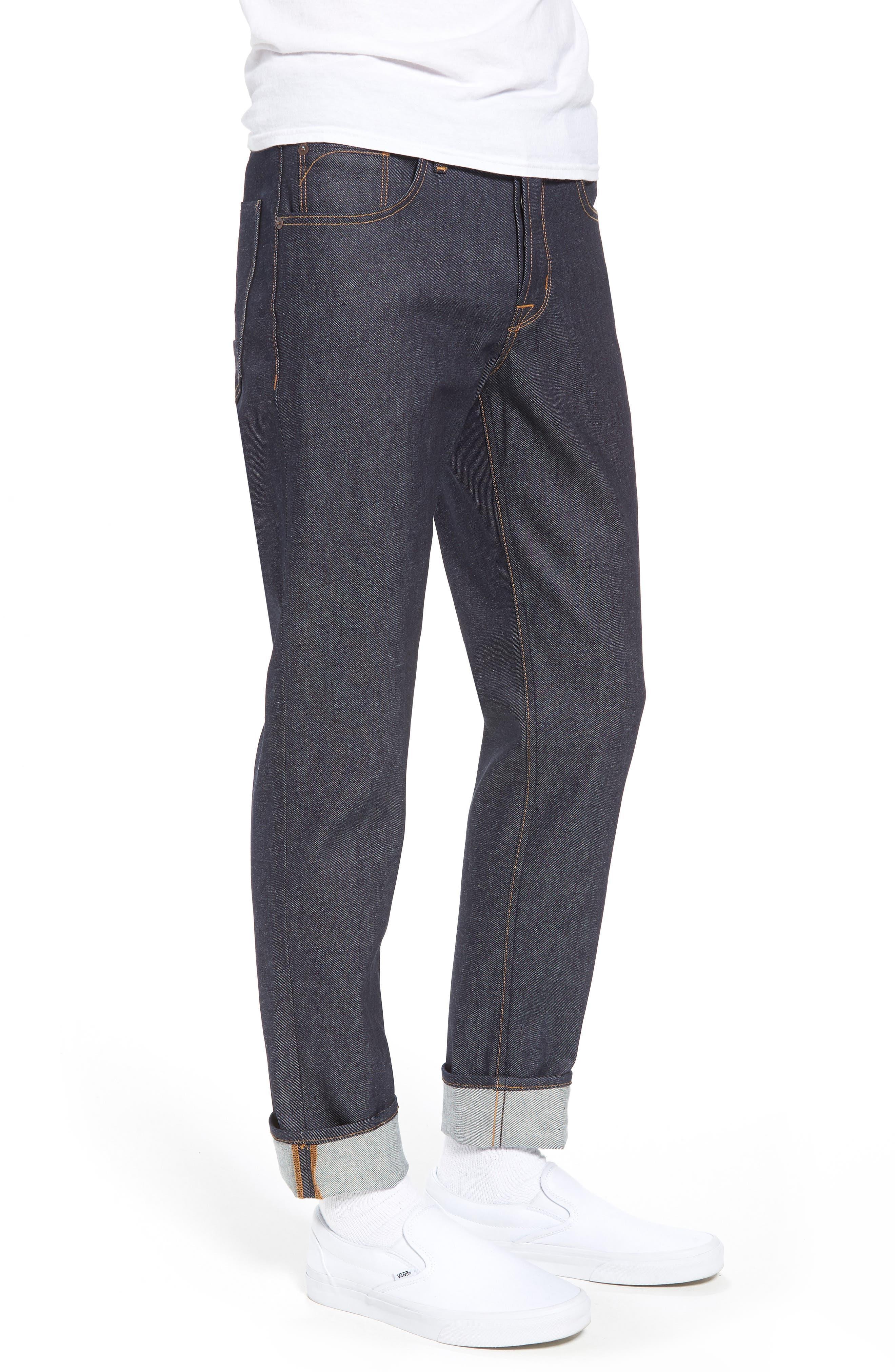 Sartor Skinny Fit Jeans,                             Alternate thumbnail 3, color,                             RAW