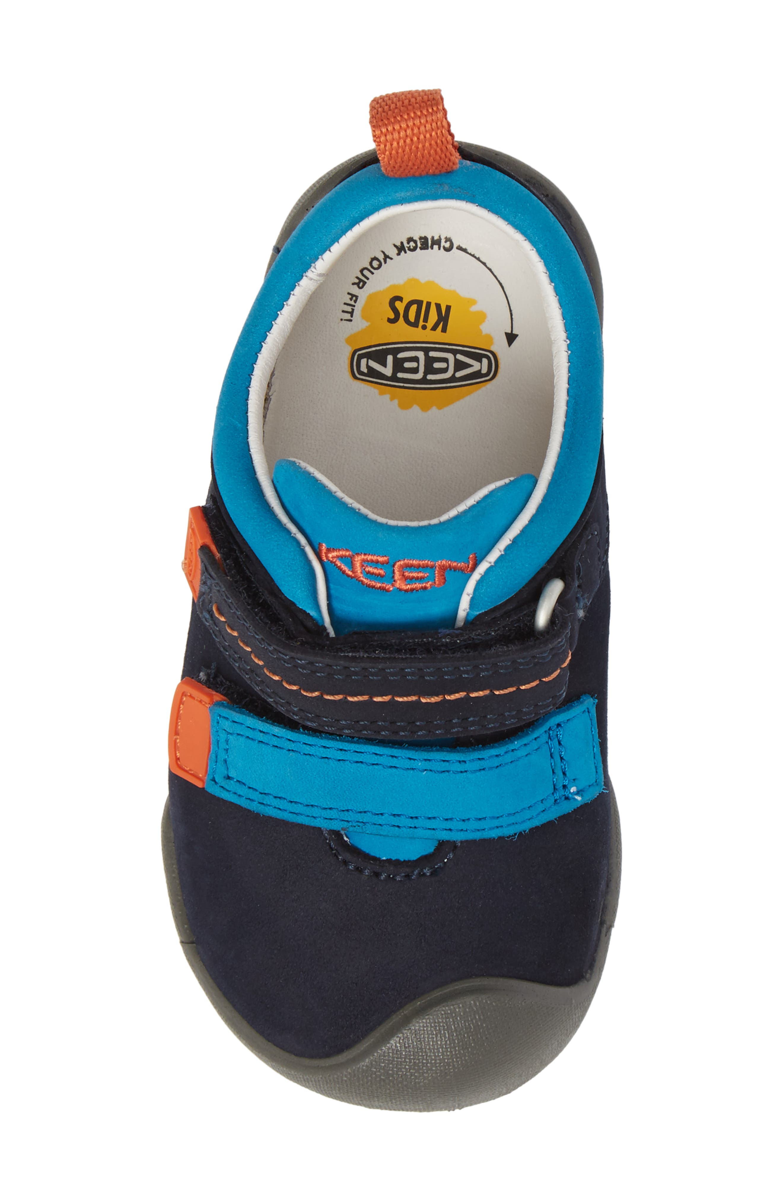 Pep Double Strap-T Sneaker,                             Alternate thumbnail 5, color,                             400