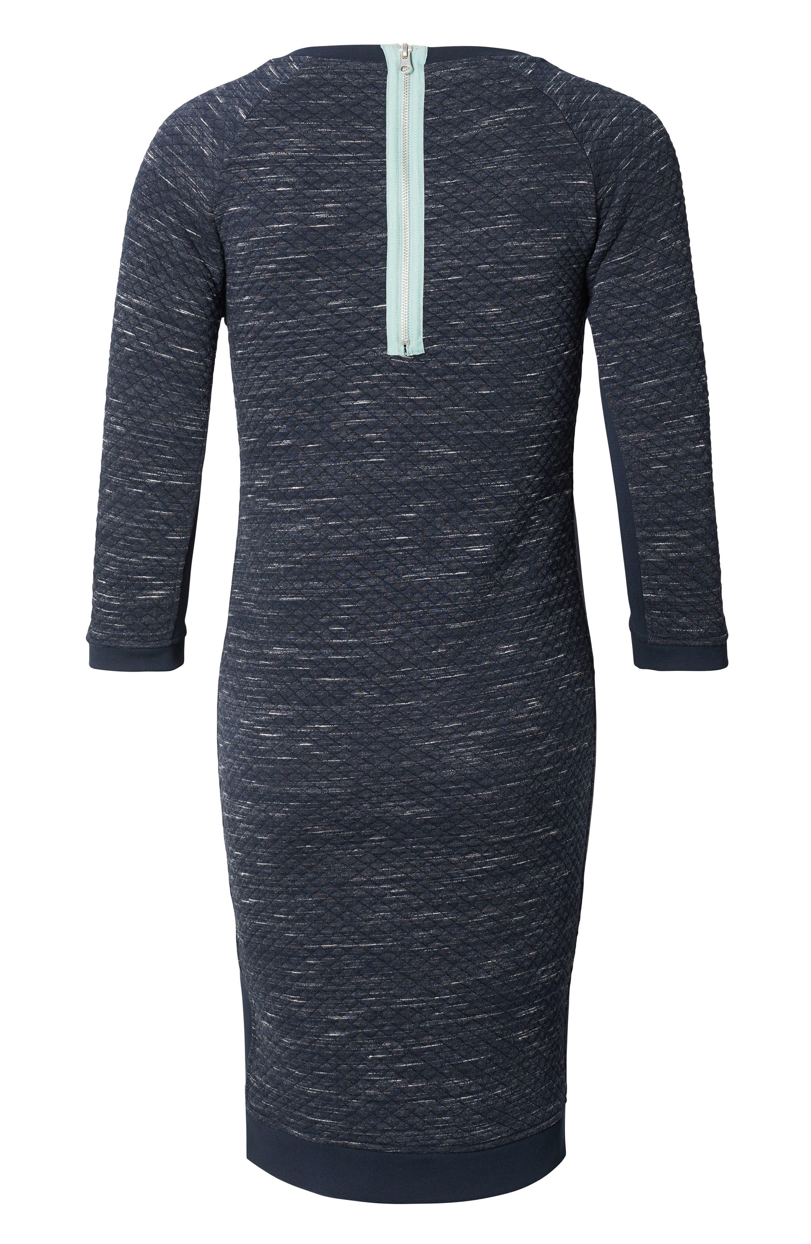 Noppies Gemma Maternity Sweater Dress, Blue