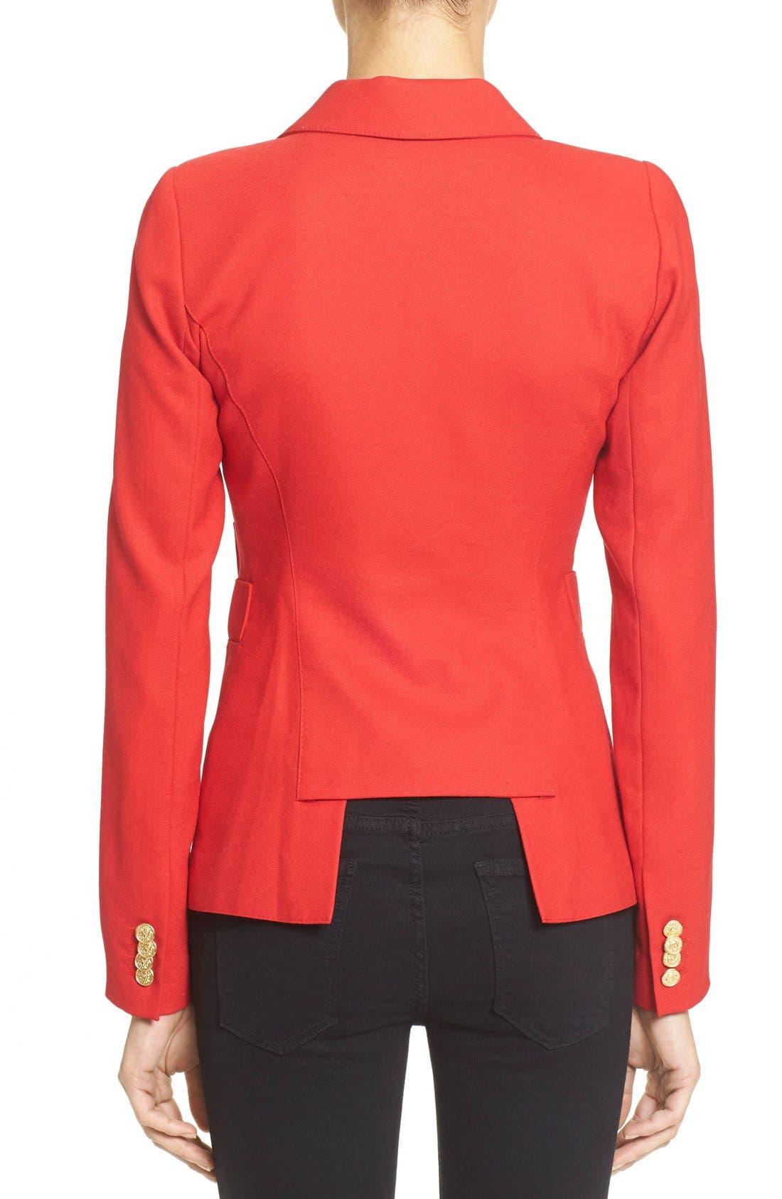 'Duchess' Single Button Blazer,                             Alternate thumbnail 12, color,