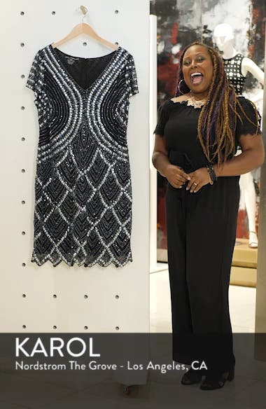 Embellished Sheath Dress, sales video thumbnail