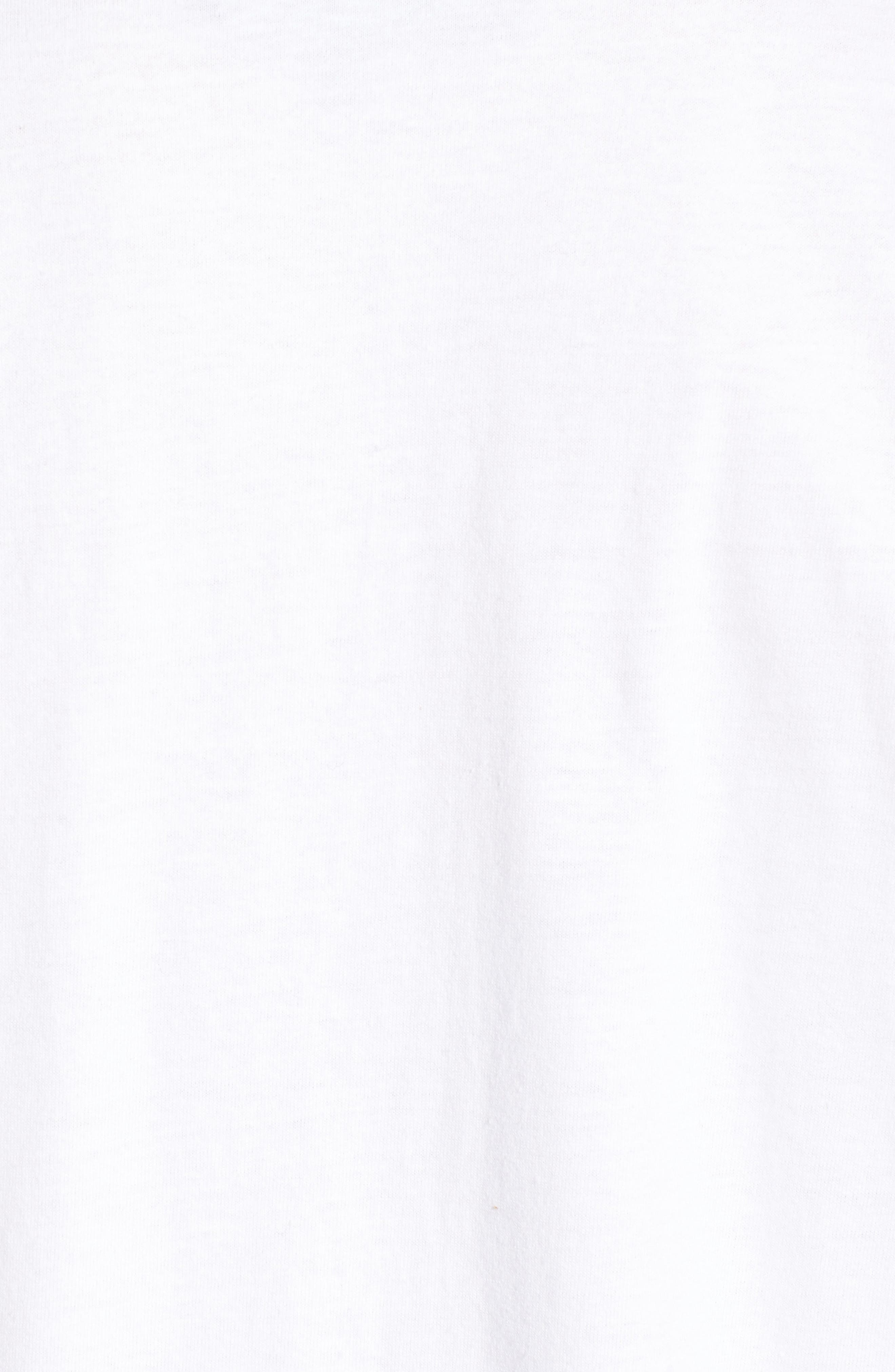 Lace-Up Tee,                             Alternate thumbnail 5, color,                             102