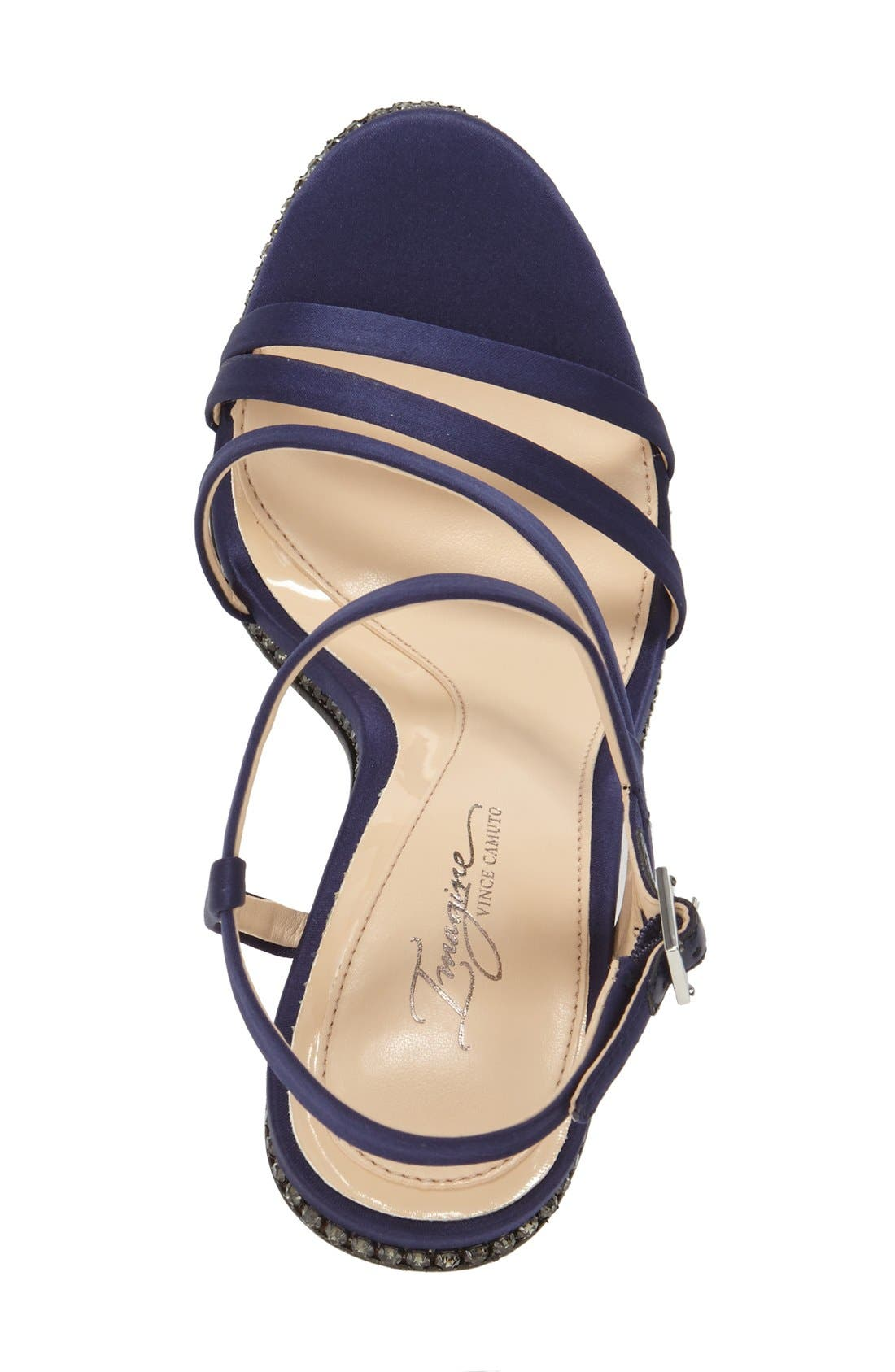 Imagine Vince Camuto 'Gian' Strappy Sandal,                             Alternate thumbnail 8, color,