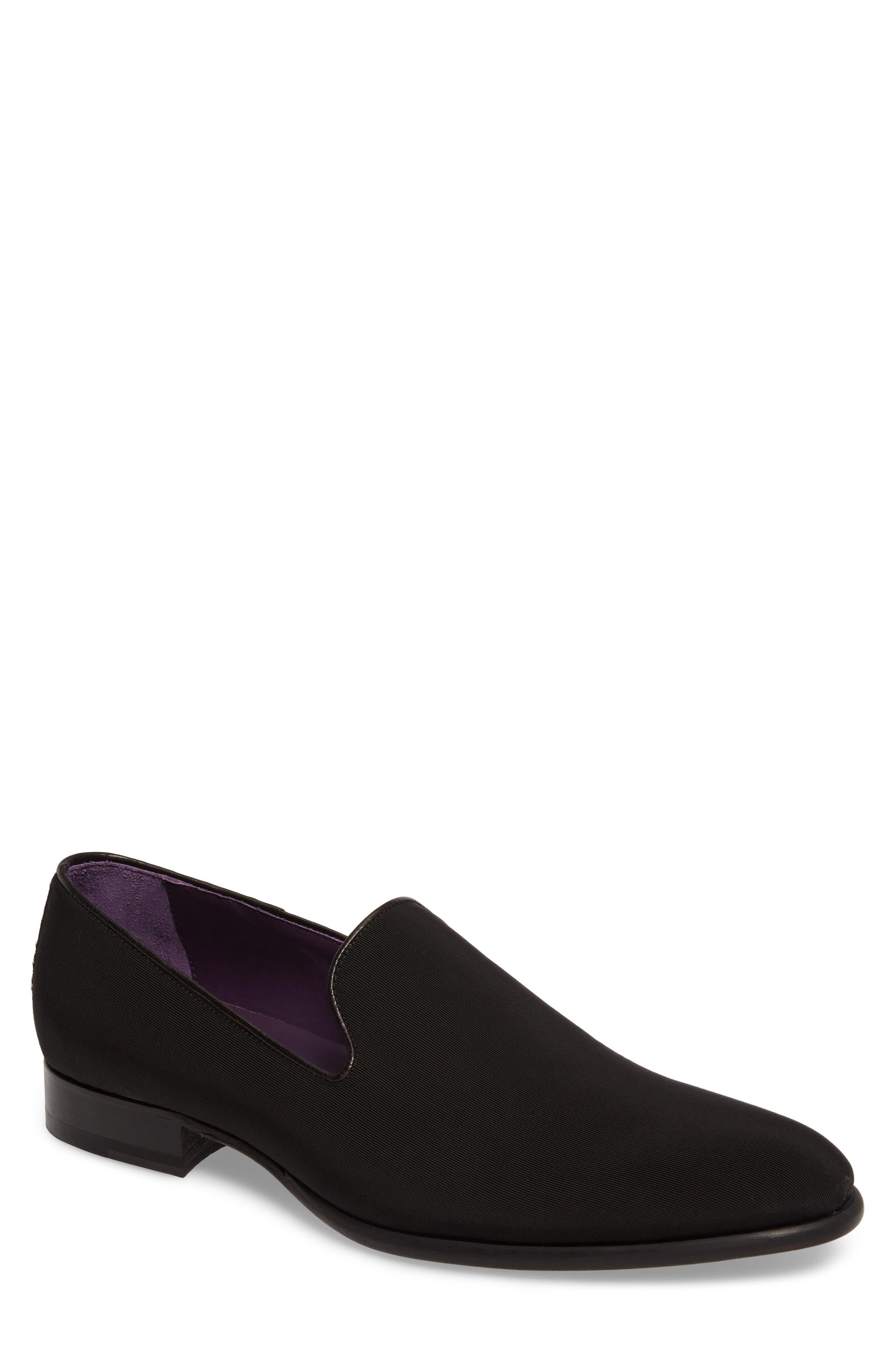 Broadway Venetian Loafer,                         Main,                         color, BLACK