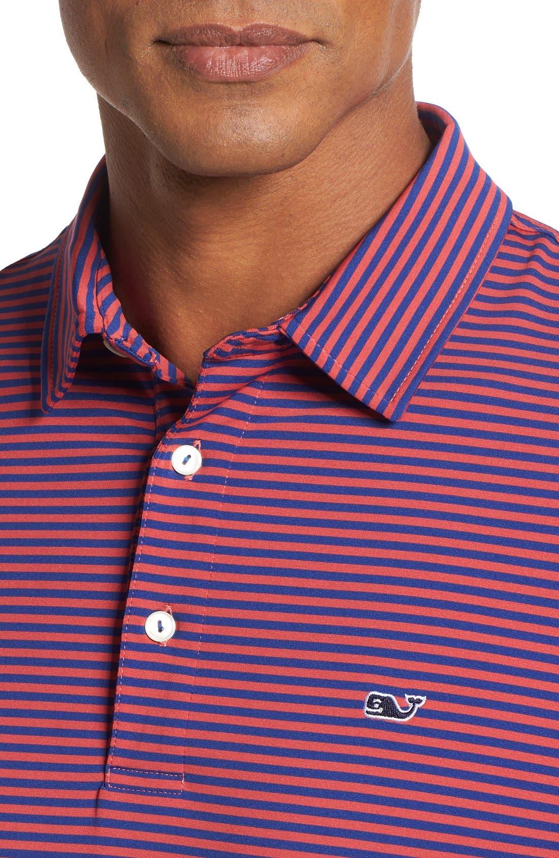 Kennedy Stripe Golf Polo,                             Alternate thumbnail 71, color,
