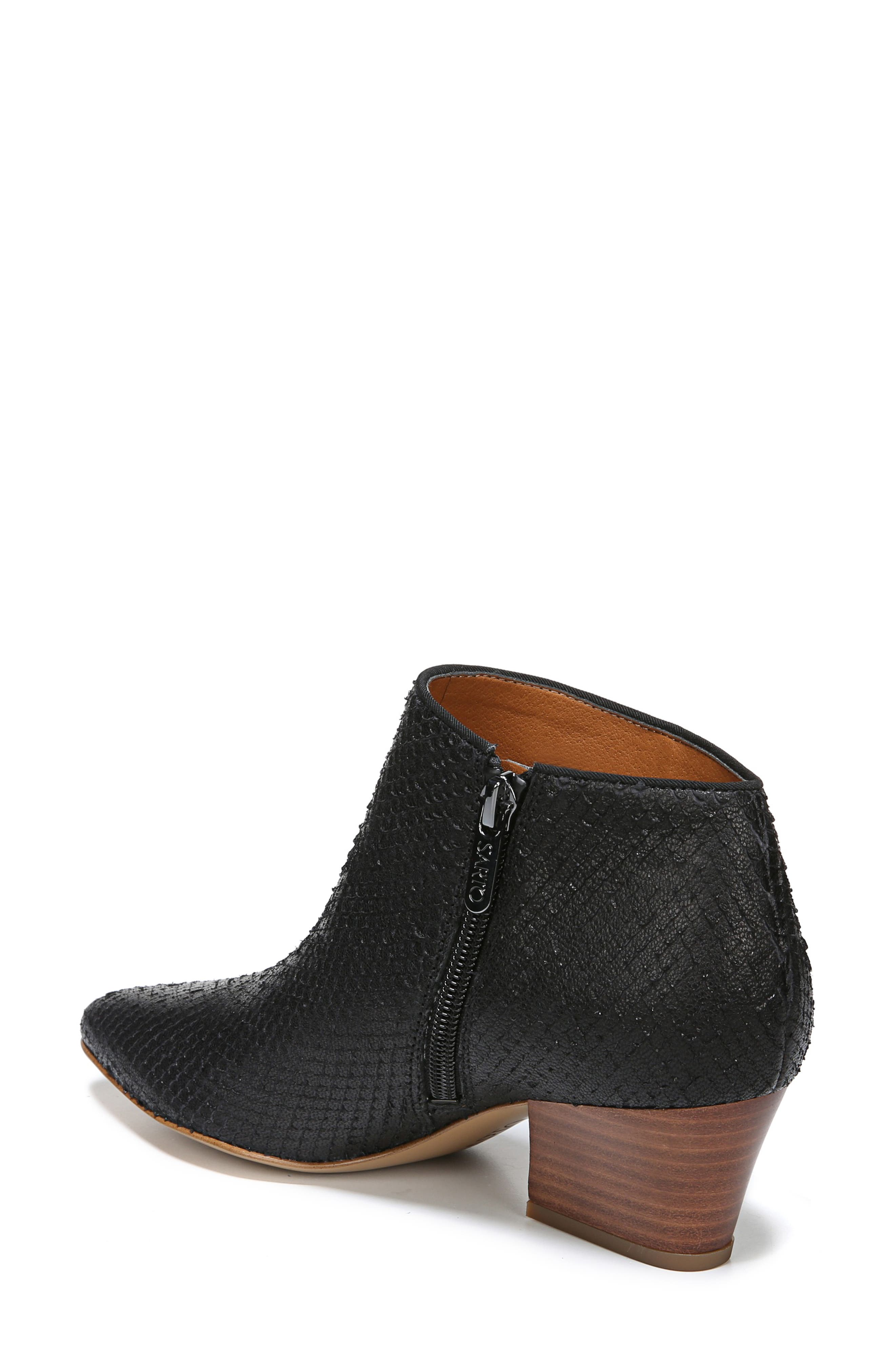 Lowe Bootie,                             Alternate thumbnail 2, color,                             BLACK SNAKE PRINT LEATHER