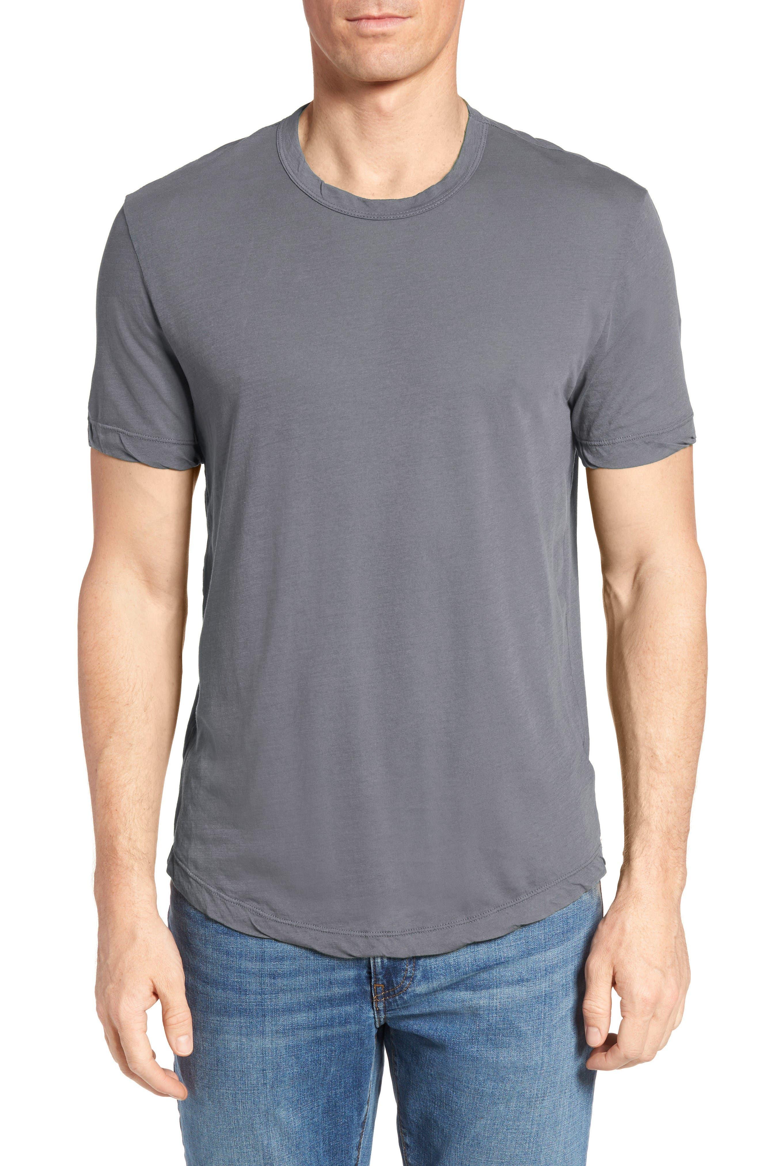 Crewneck Jersey T-Shirt,                             Main thumbnail 3, color,