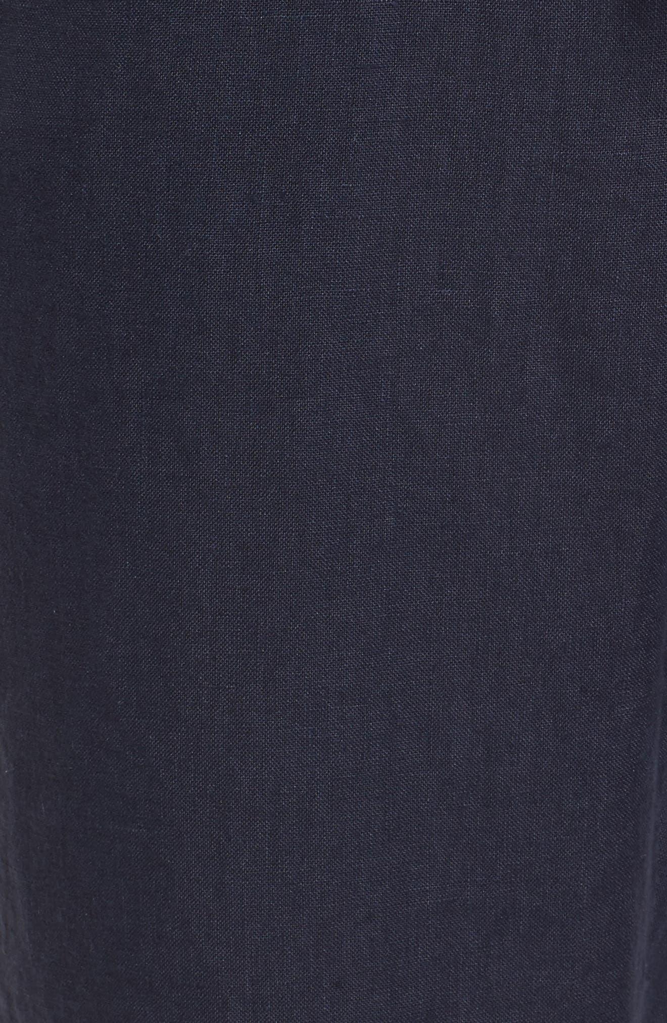 Linen Crop Pants,                             Alternate thumbnail 34, color,
