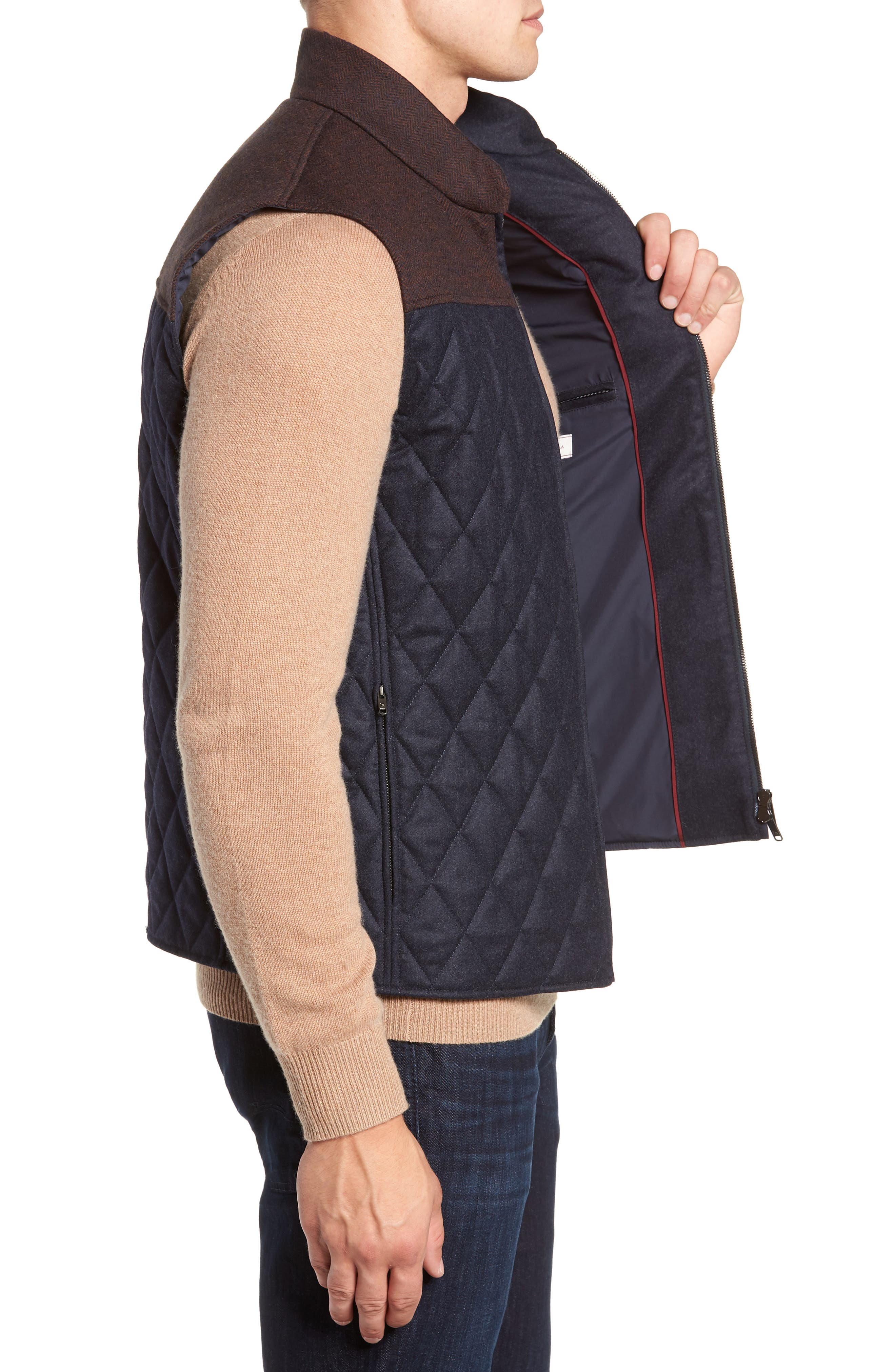 Quilted Vest,                             Alternate thumbnail 3, color,                             411