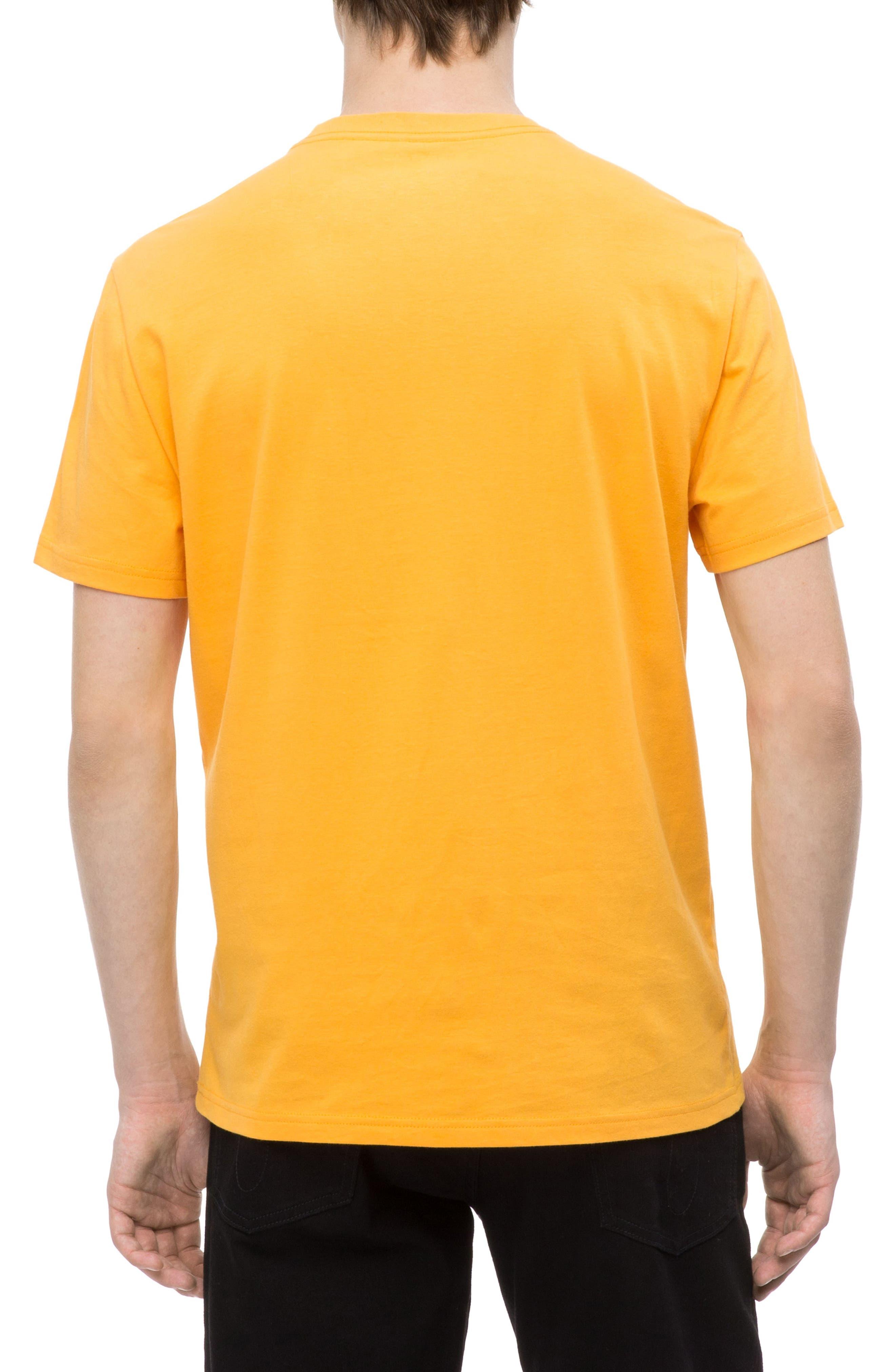 Large Logo T-Shirt,                             Alternate thumbnail 2, color,                             ICELAND POPPY