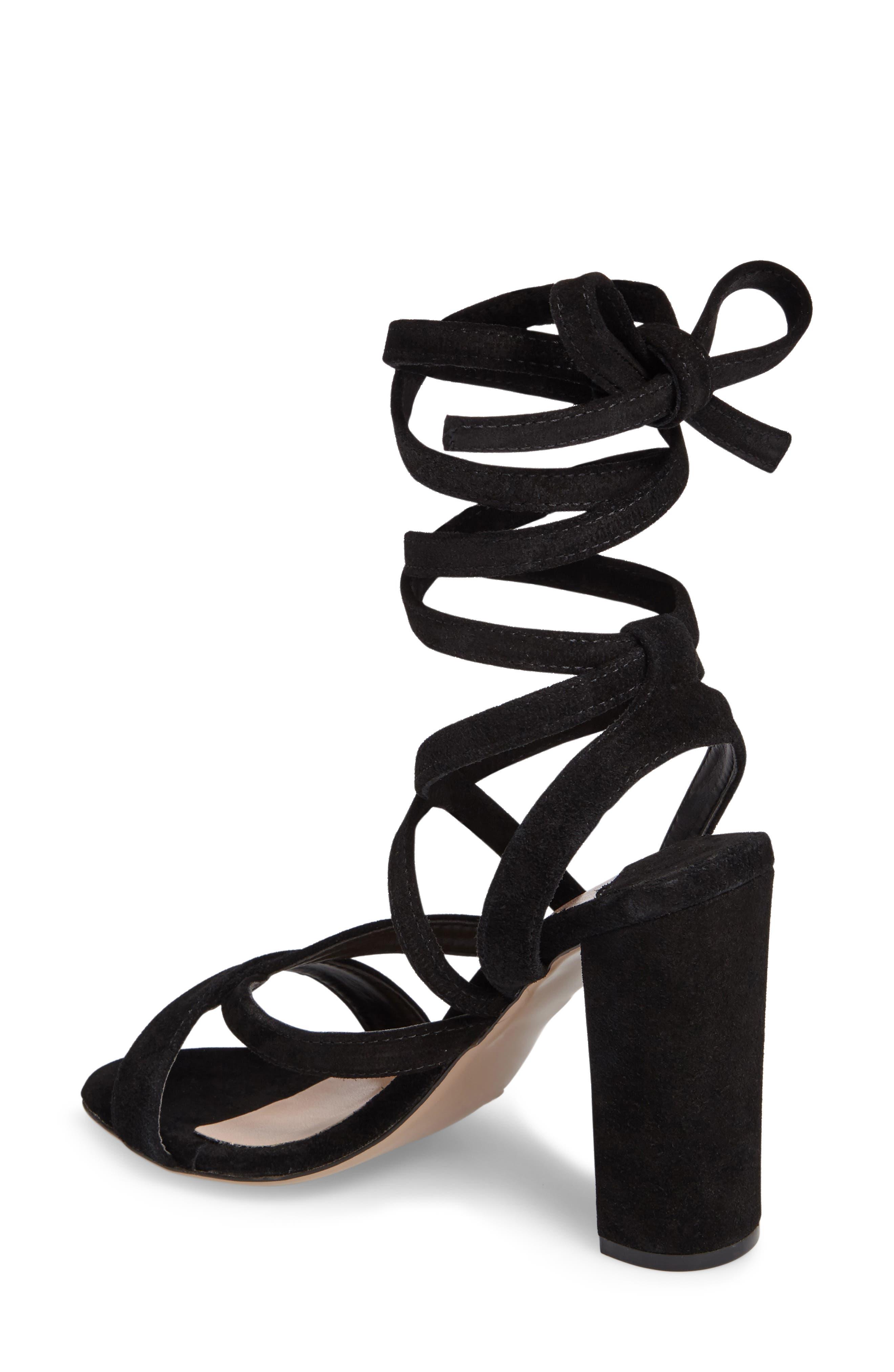 Kappa Ankle Wrap Sandal,                             Alternate thumbnail 2, color,                             001